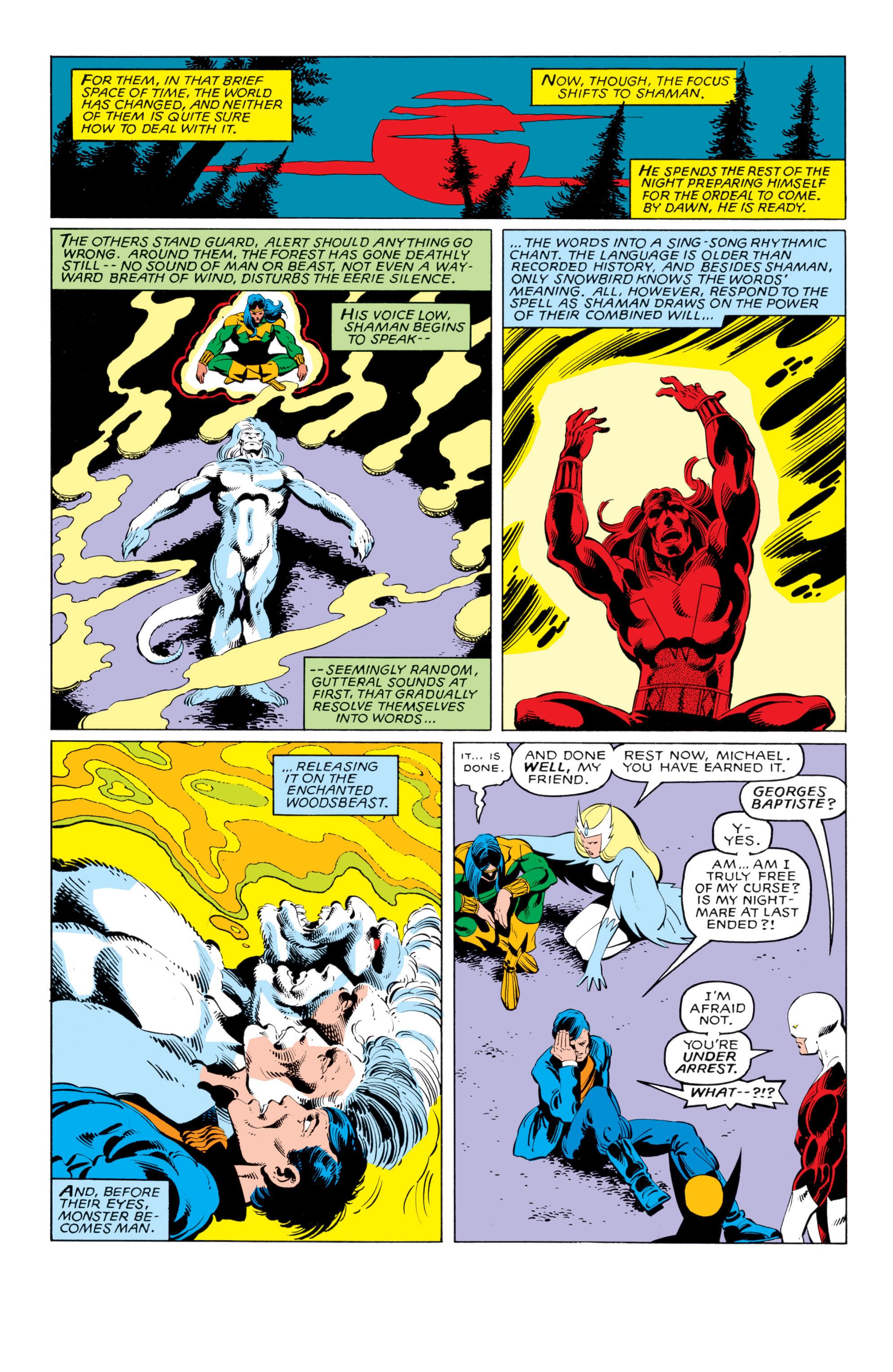 Read online Uncanny X-Men (1963) comic -  Issue #140 - 20