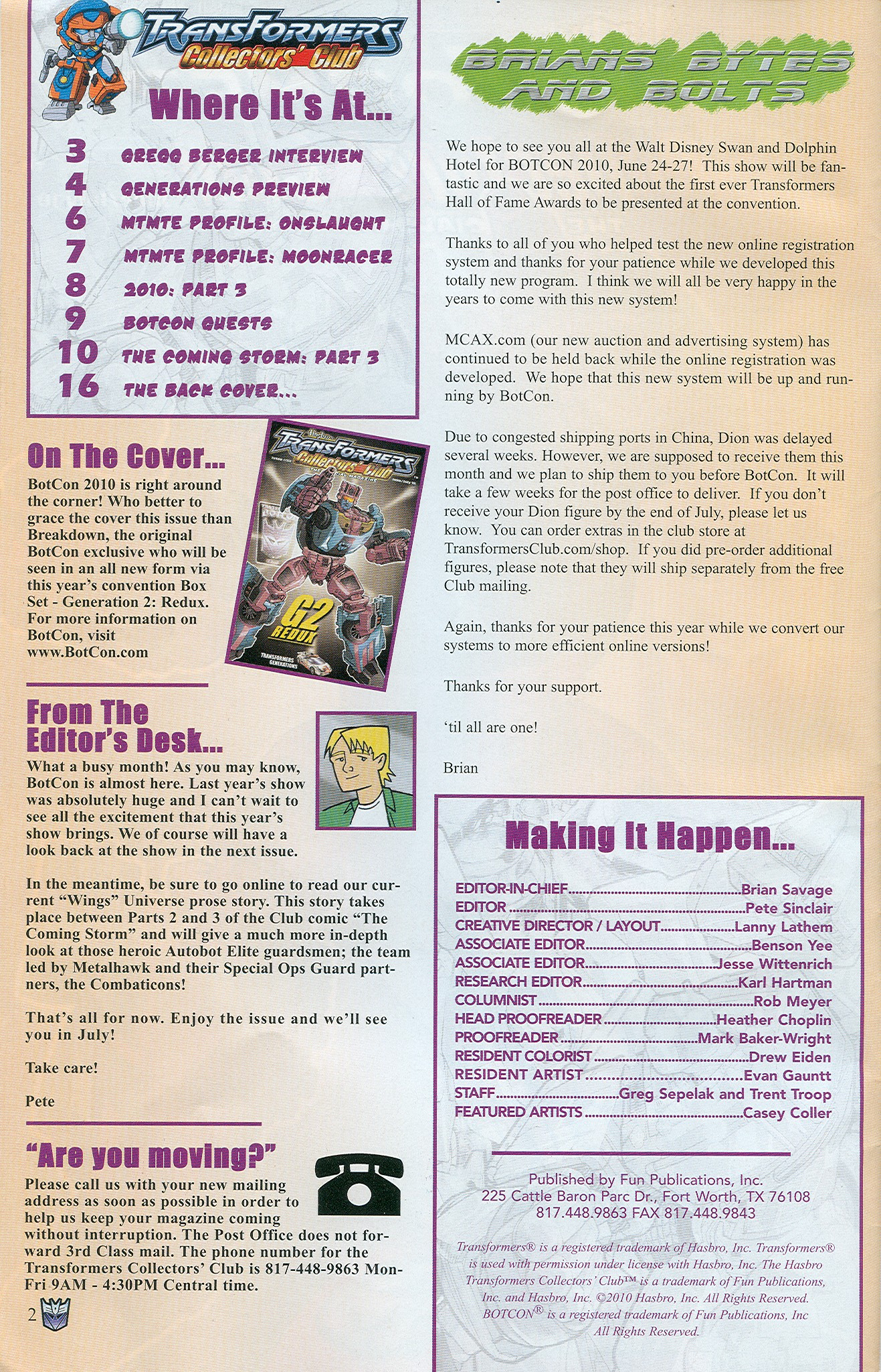 Read online Transformers: Collectors' Club comic -  Issue #33 - 2