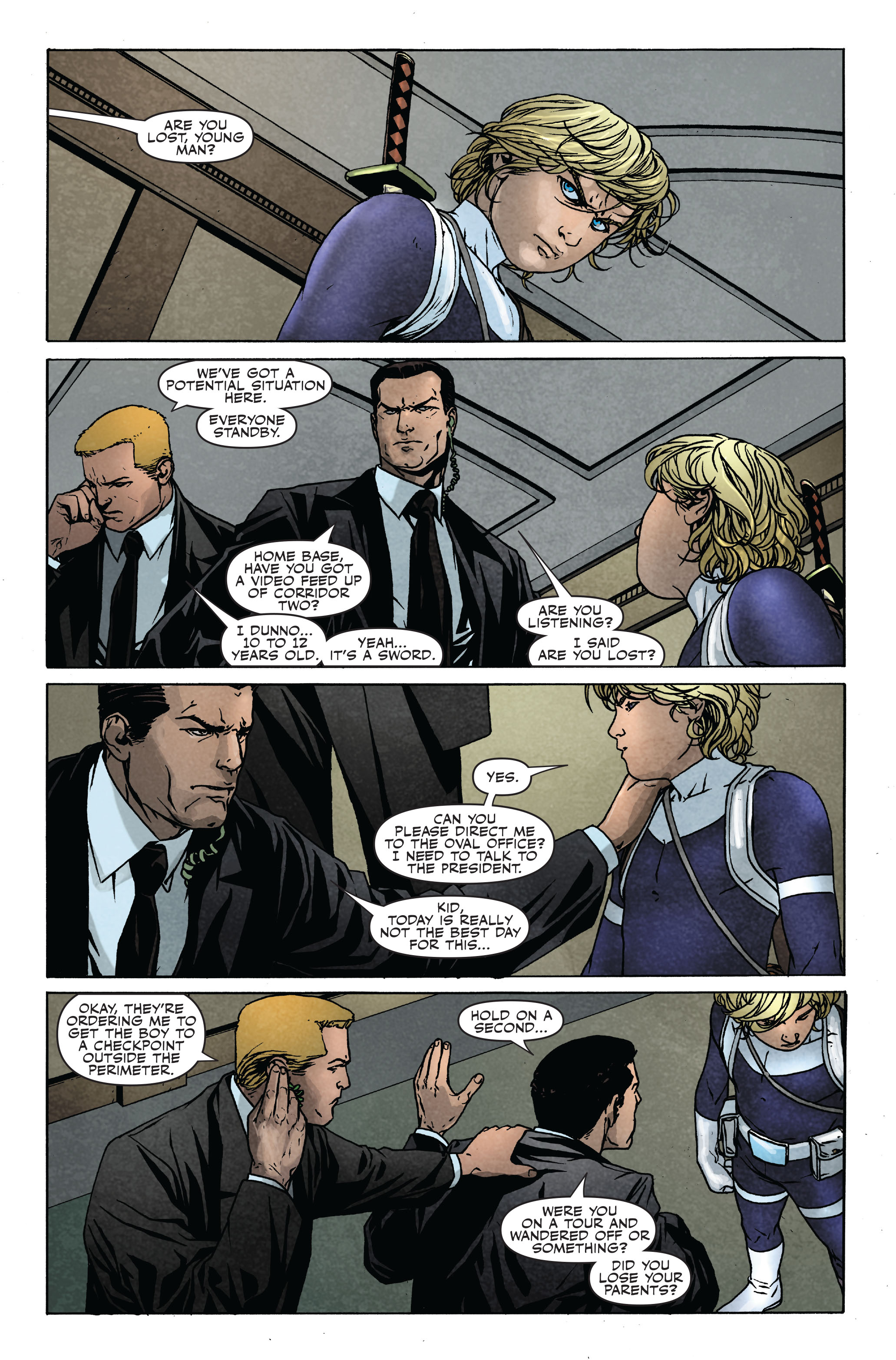 Read online Siege: Secret Warriors comic -  Issue # Full - 12