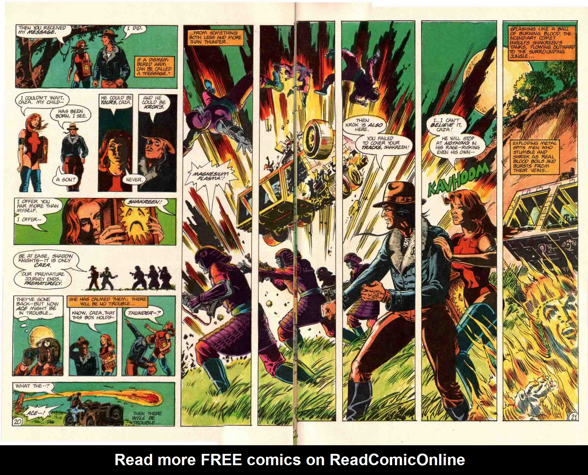 Read online Aztec Ace comic -  Issue #10 - 17