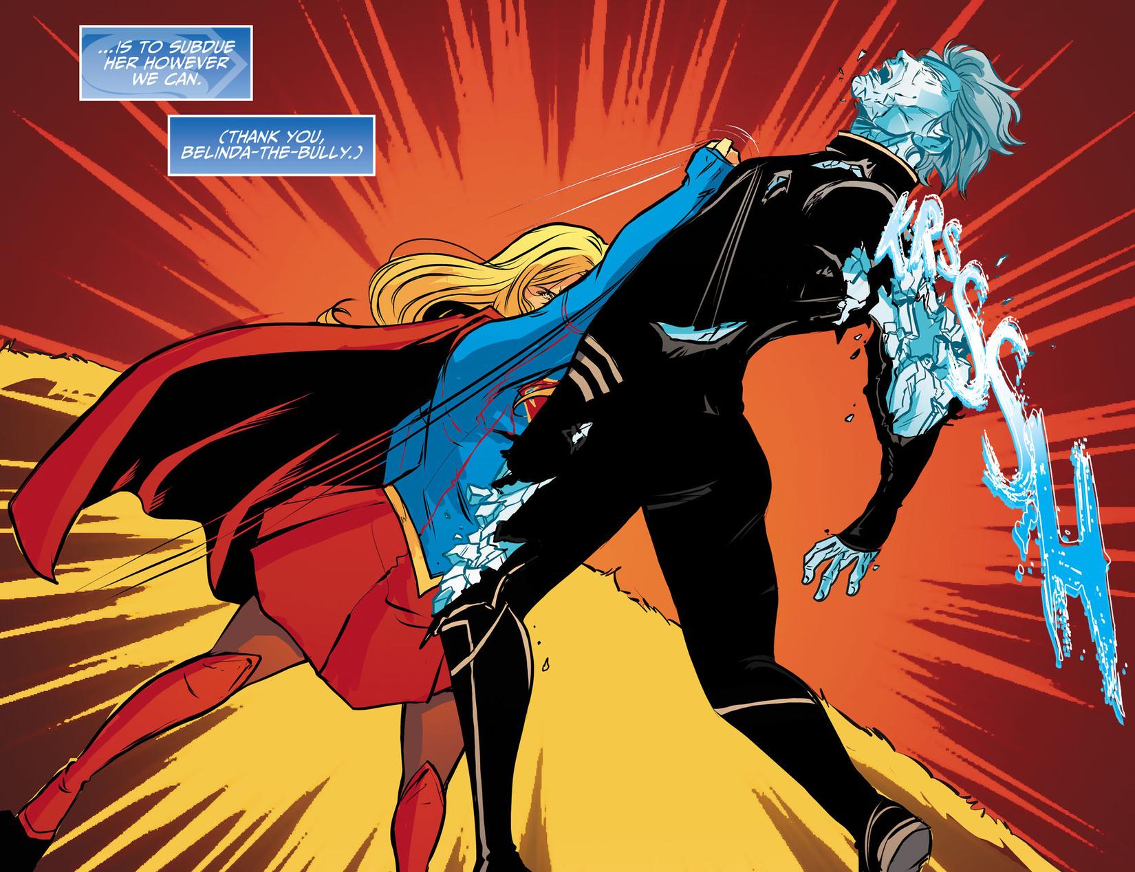 Read online Adventures of Supergirl comic -  Issue #13 - 13