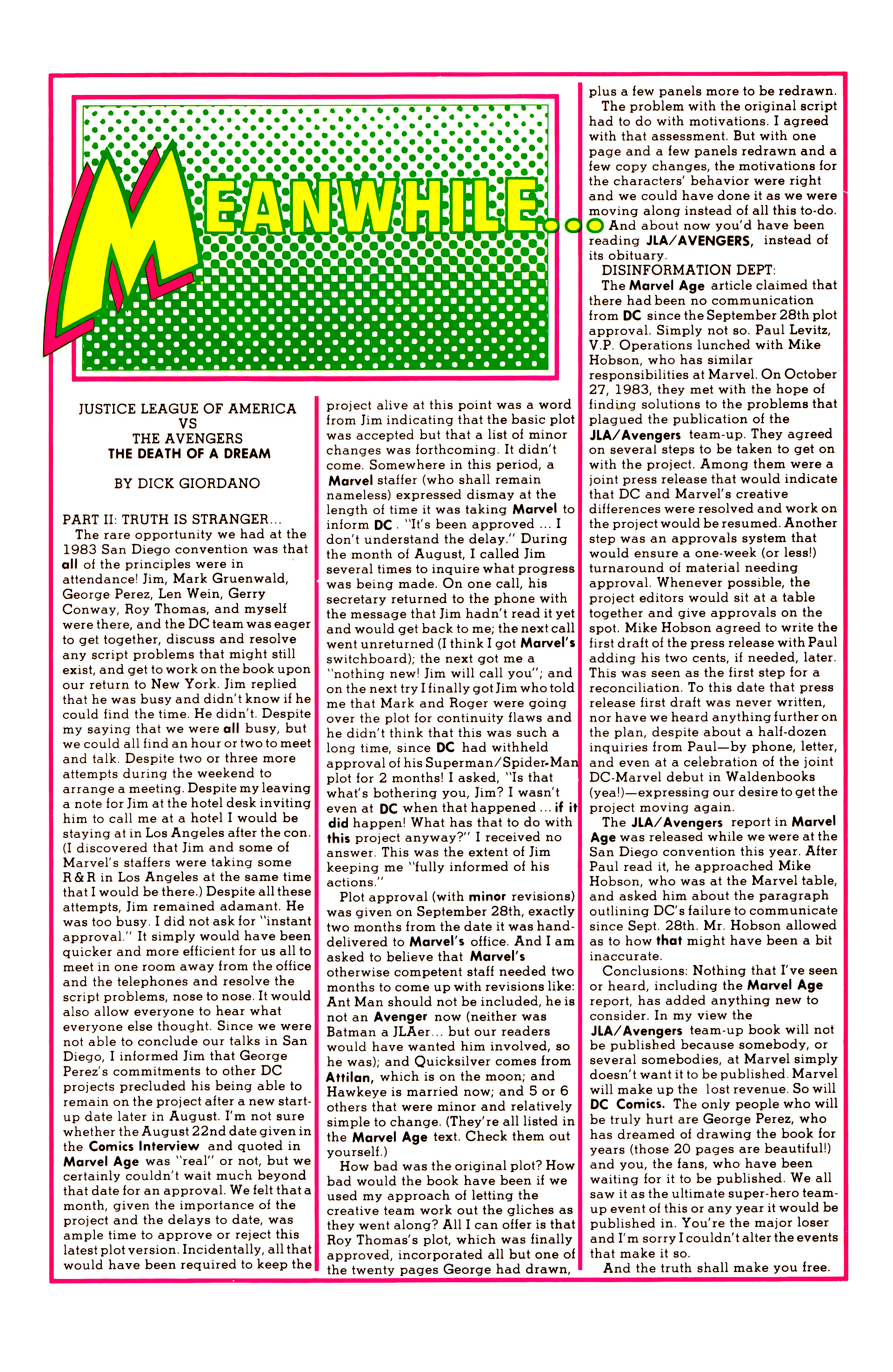 Legion of Super-Heroes (1984) 6 Page 25