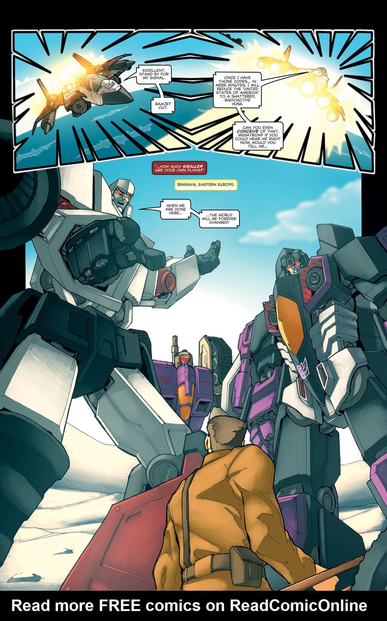 Read online Transformers Spotlight: Ramjet comic -  Issue # Full - 13