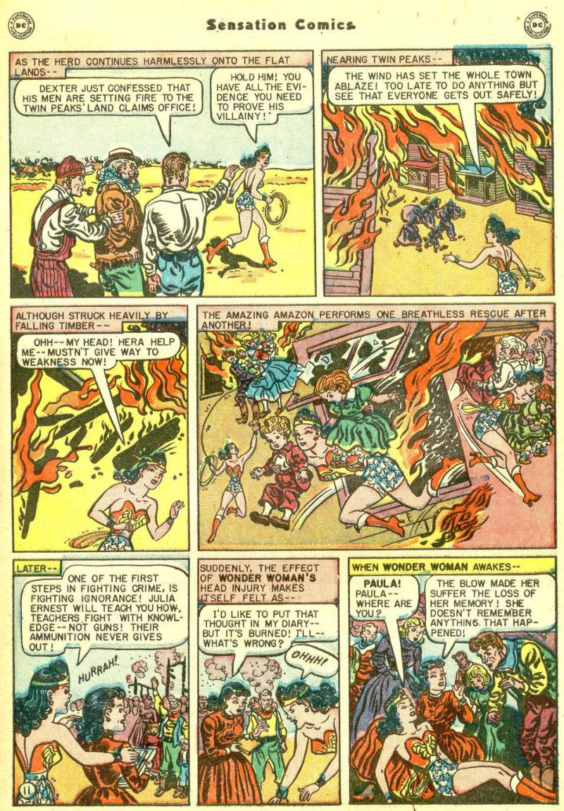 Read online Sensation (Mystery) Comics comic -  Issue #87 - 13