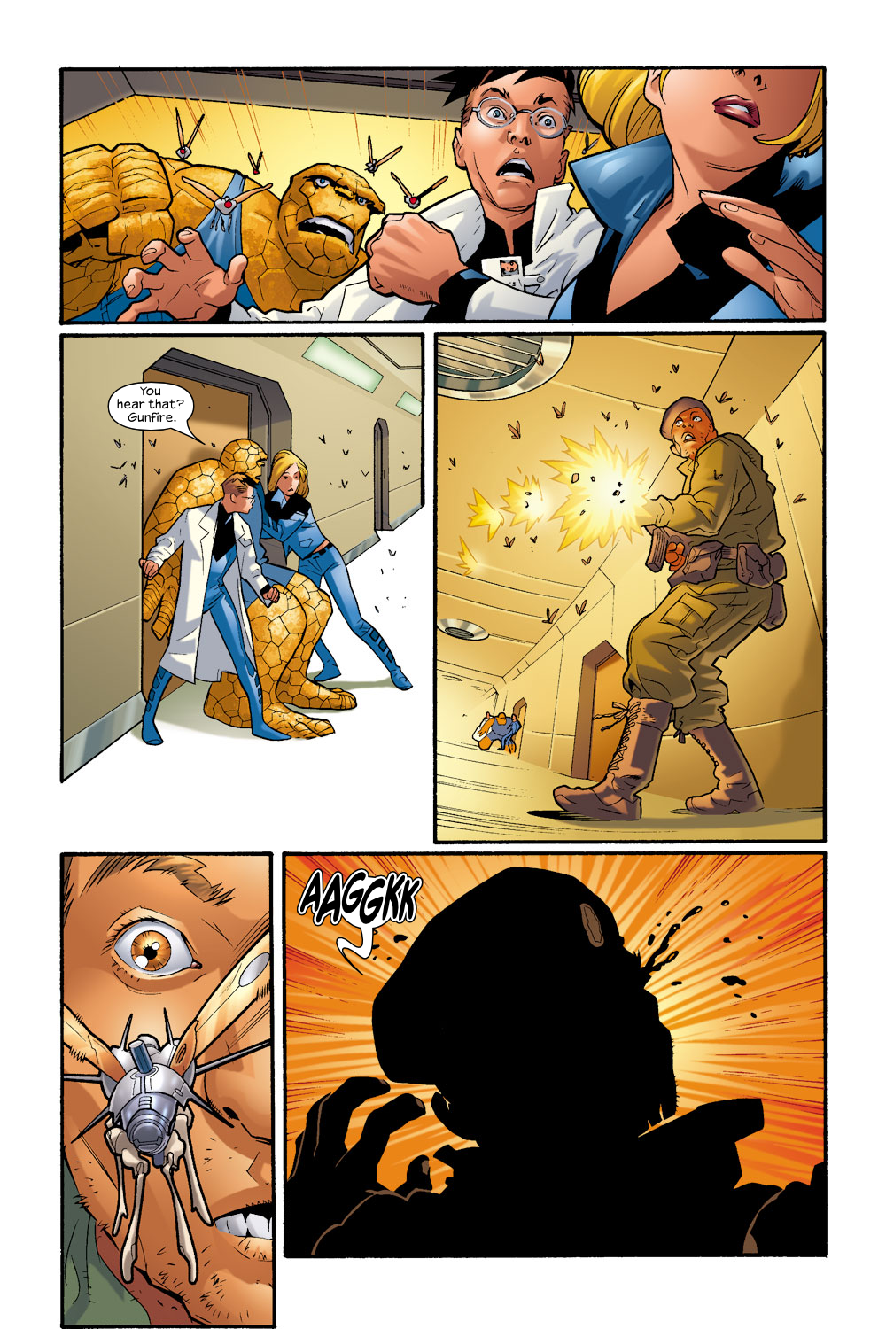 Read online Ultimate Fantastic Four (2004) comic -  Issue #9 - 4