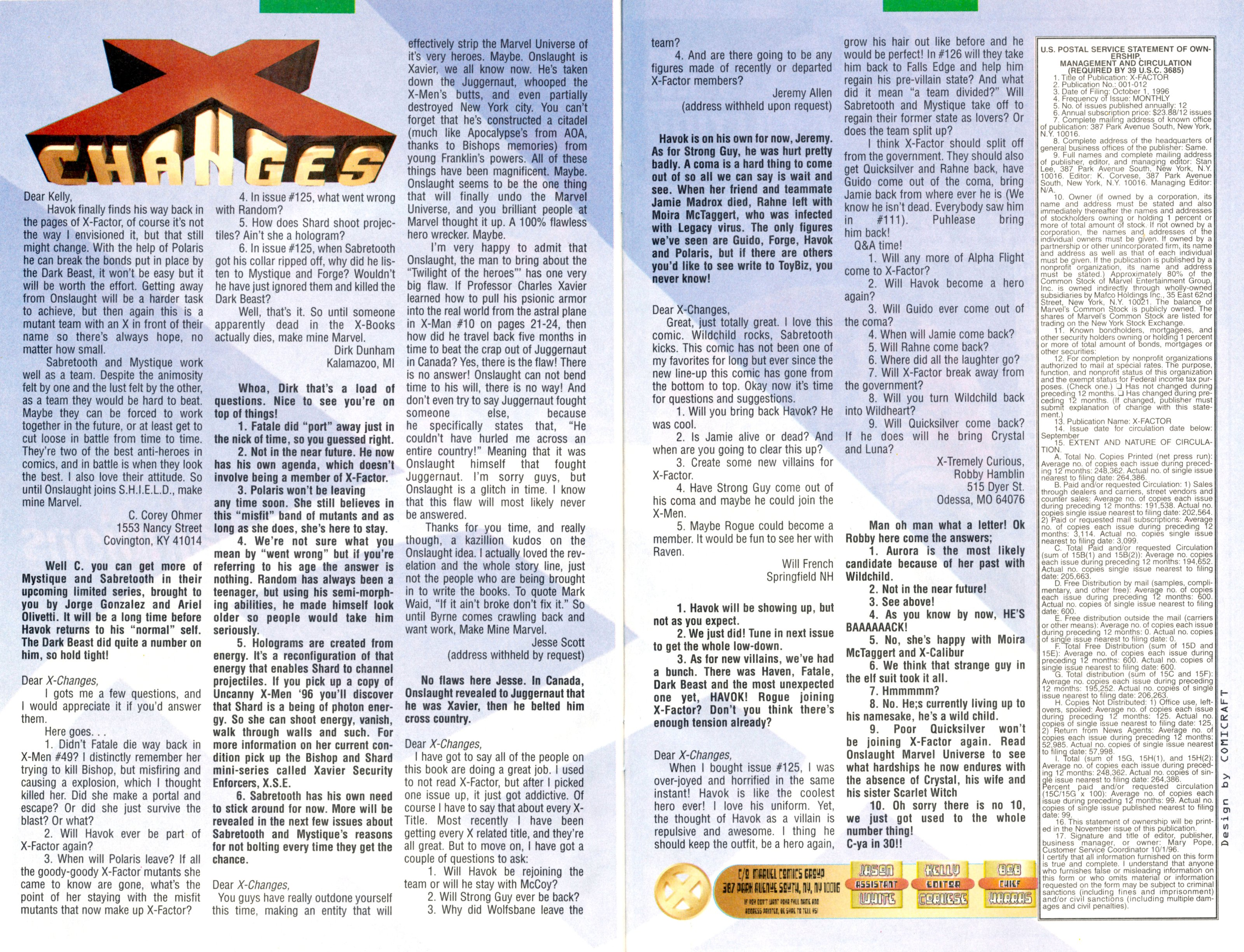 Read online X-Factor (1986) comic -  Issue #128 - 30
