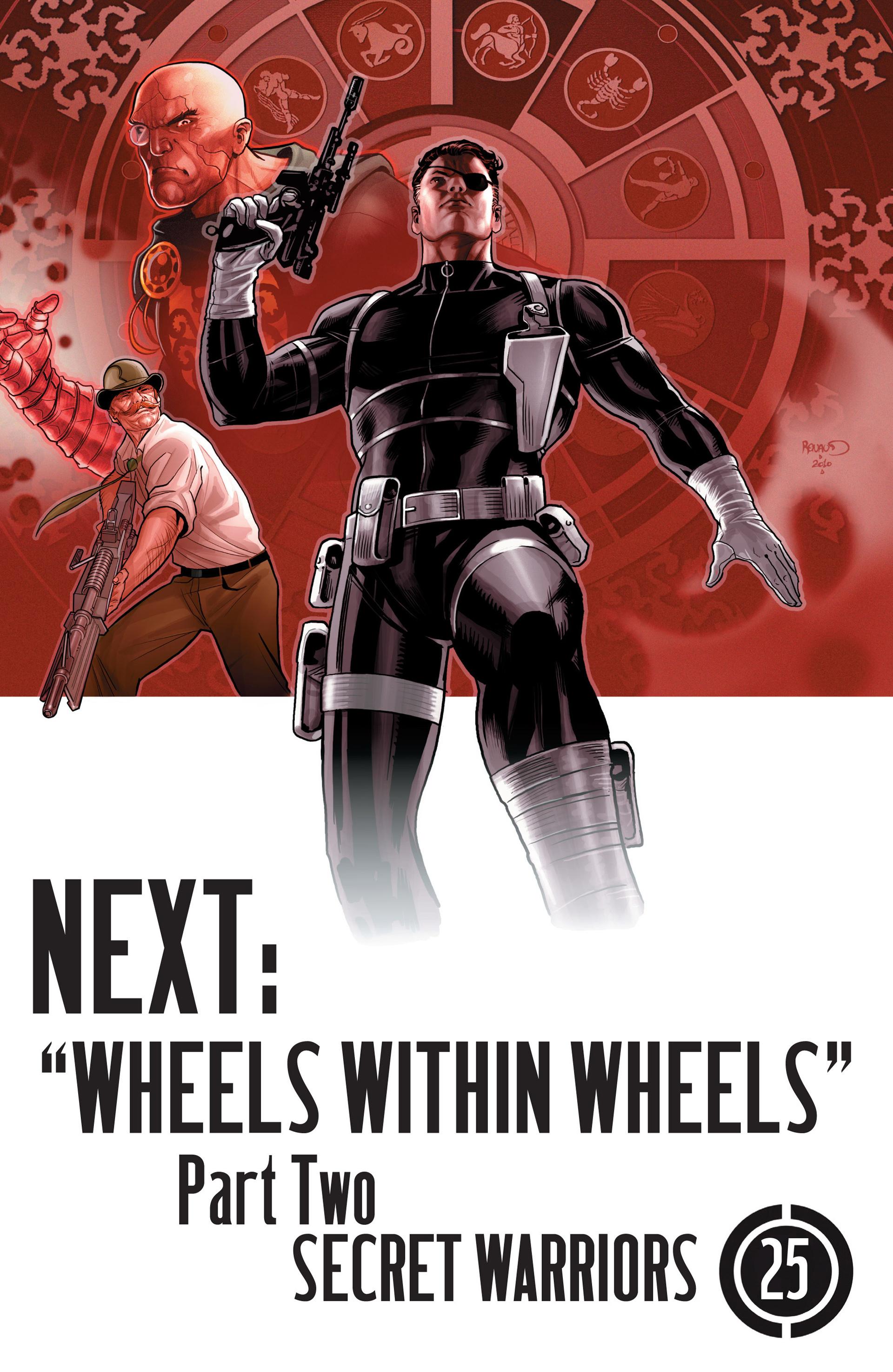 Read online Secret Warriors comic -  Issue #24 - 26