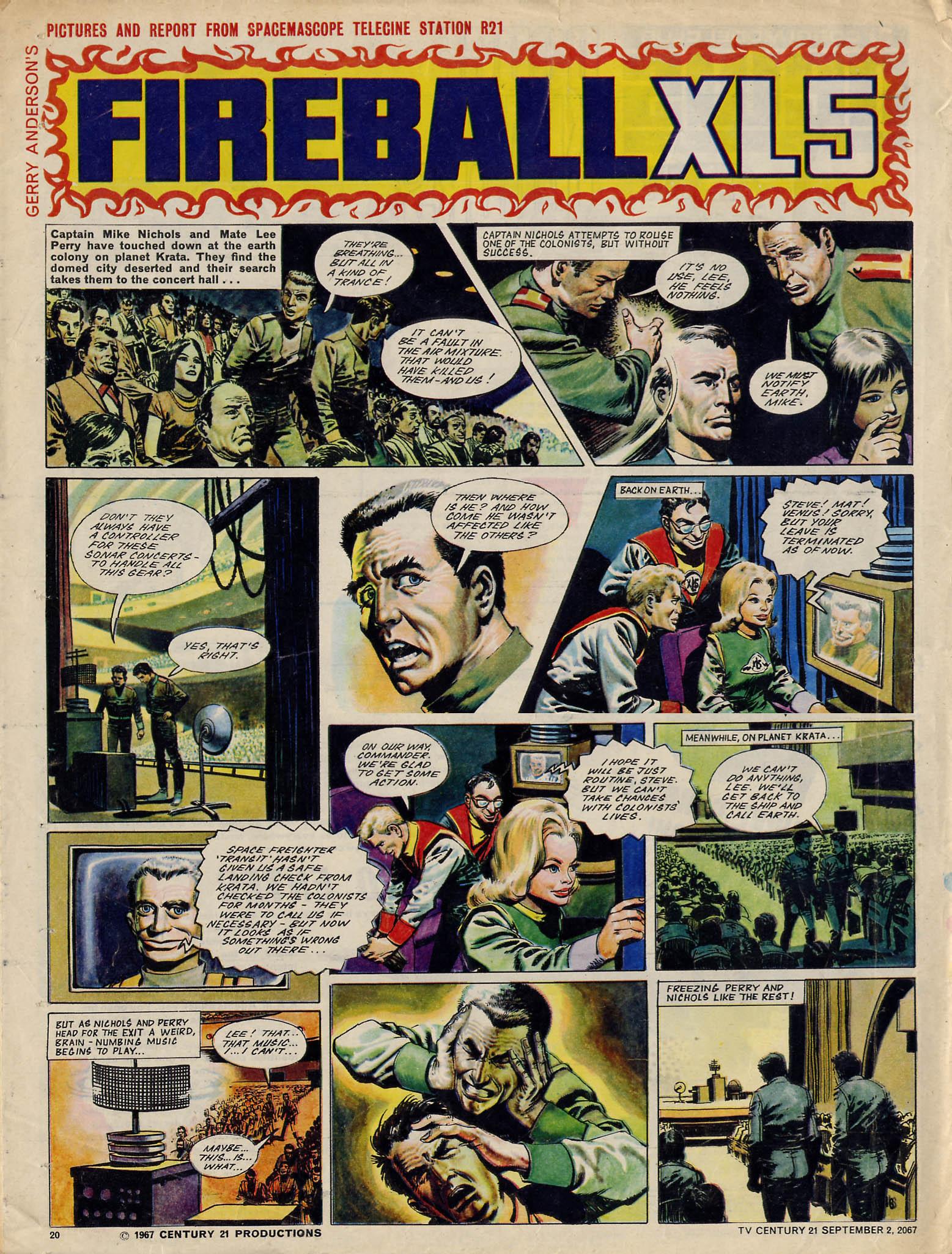Read online TV Century 21 (TV 21) comic -  Issue #137 - 19