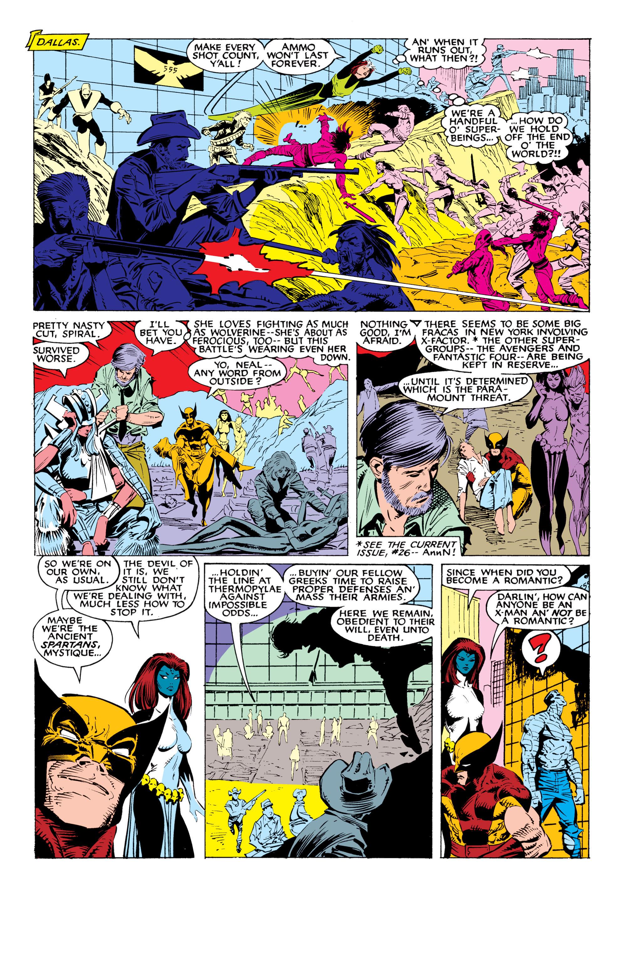 Read online Uncanny X-Men (1963) comic -  Issue #226 - 26