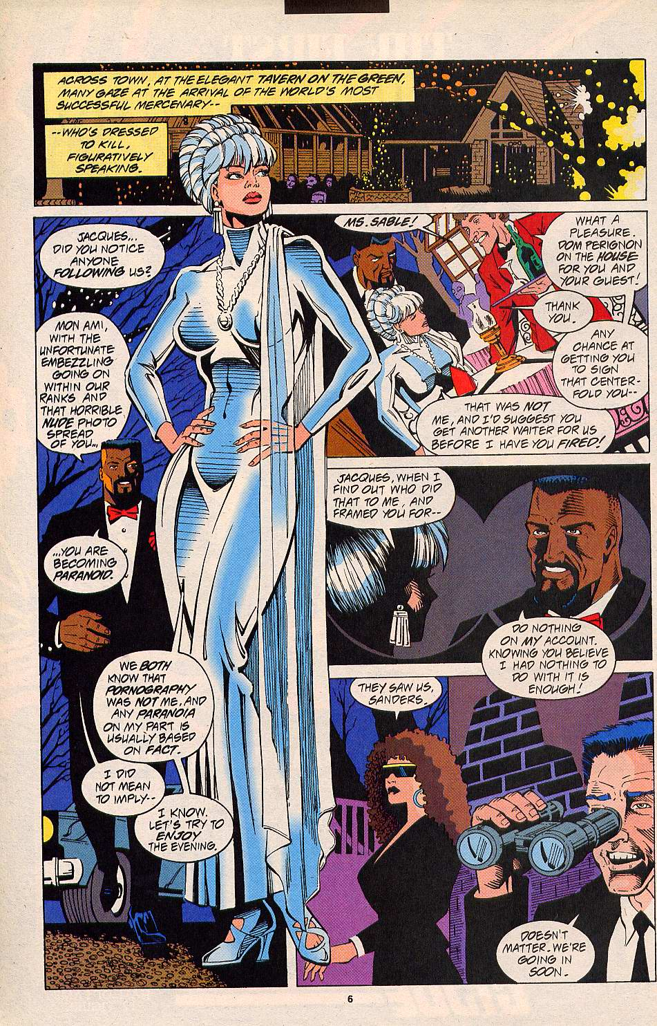 Read online Silver Sable and the Wild Pack comic -  Issue #20 - 6
