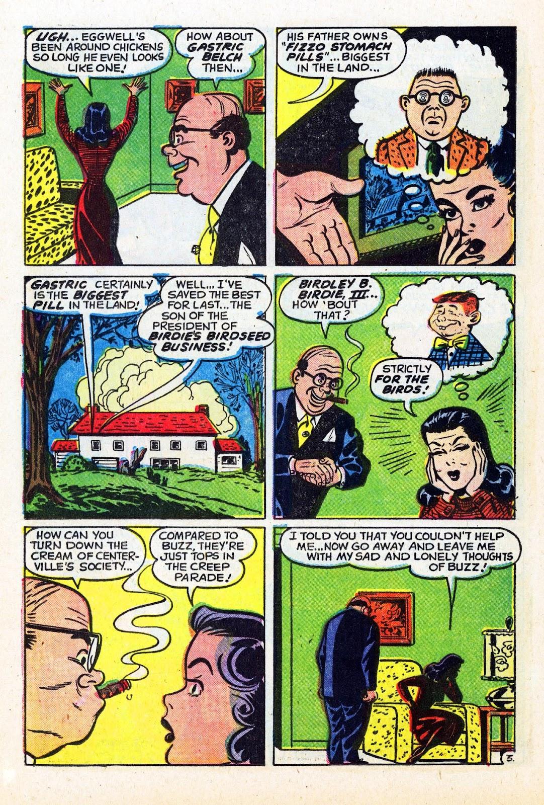 Read online Patsy Walker comic -  Issue #58 - 12