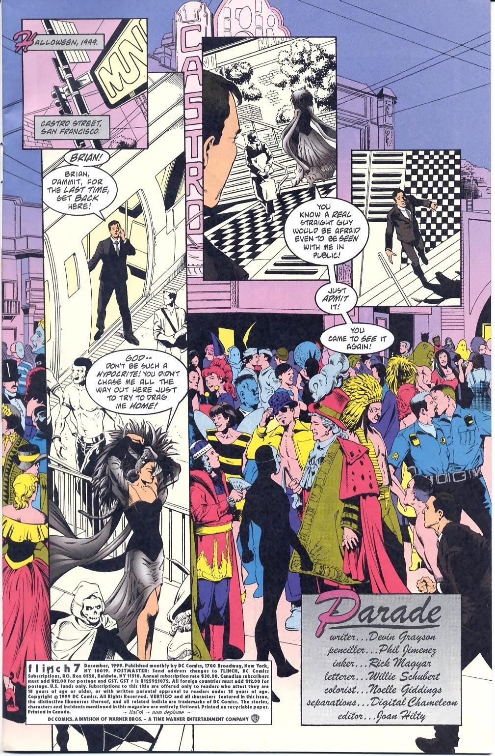 Read online Flinch comic -  Issue #7 - 2