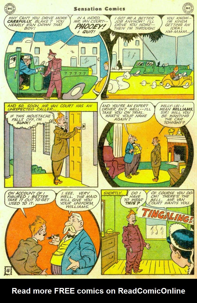 Read online Sensation (Mystery) Comics comic -  Issue #65 - 35