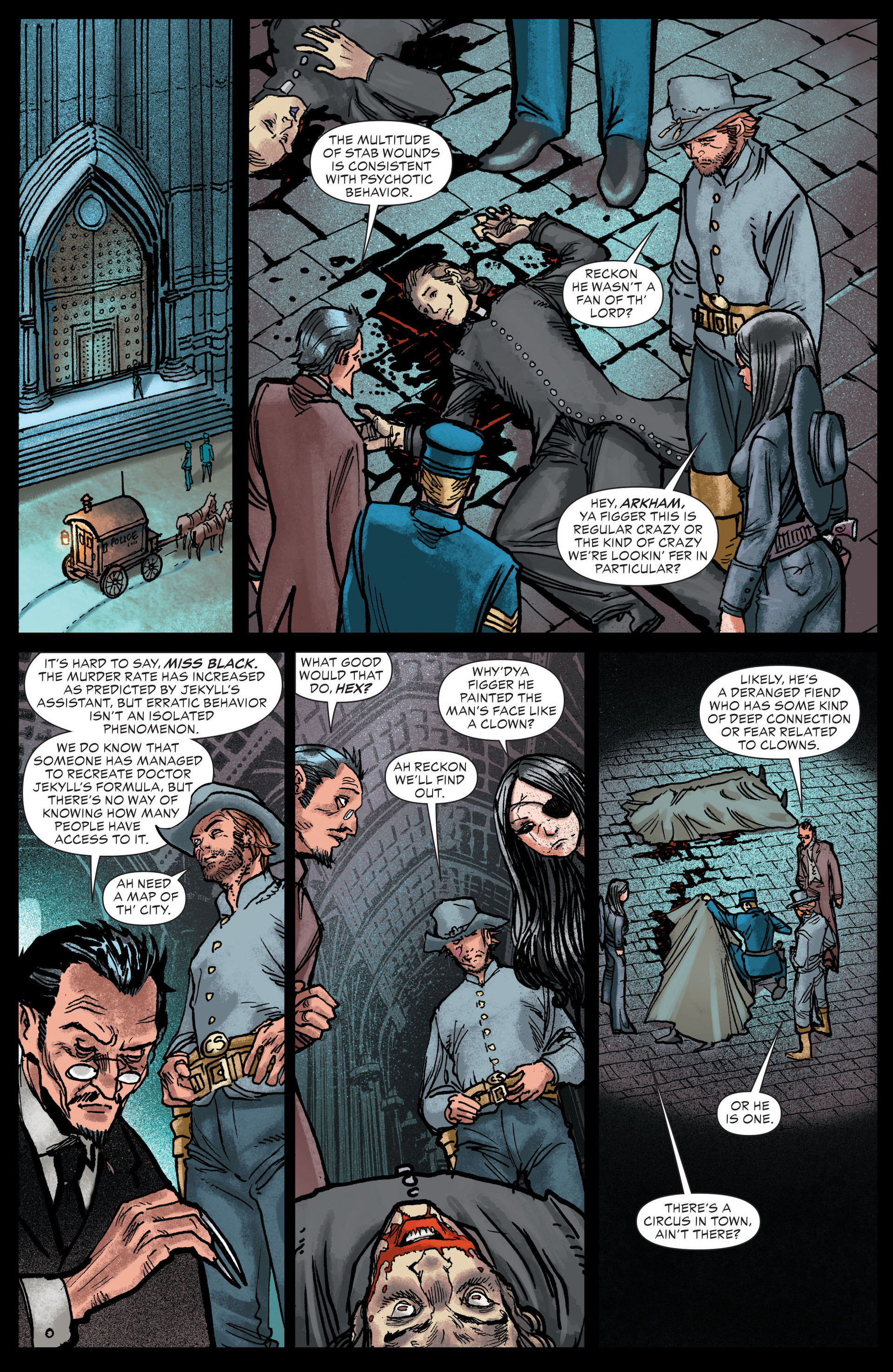 Read online All-Star Western (2011) comic -  Issue #13 - 5
