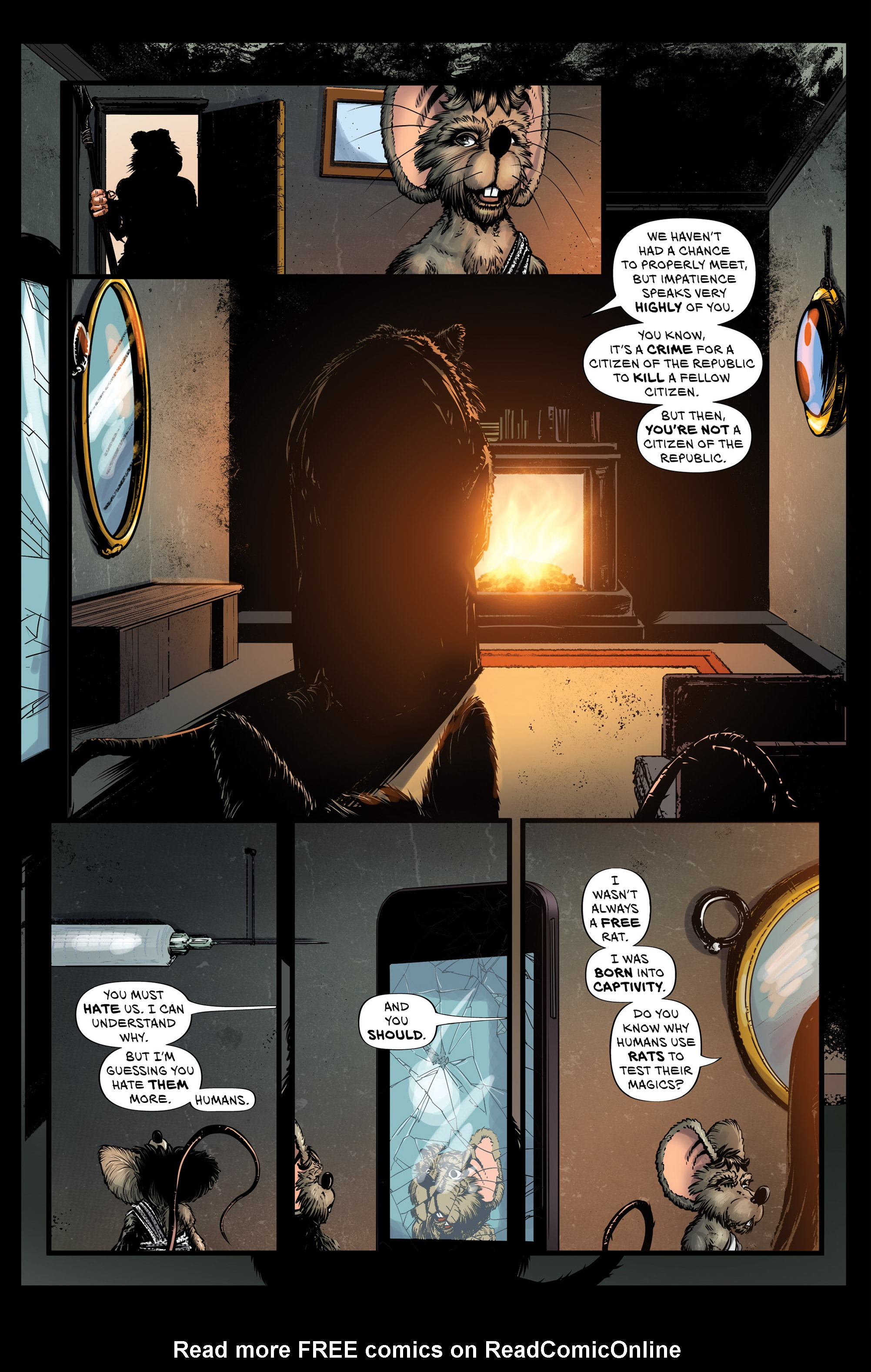 Read online Wretched Things comic -  Issue #3 - 22