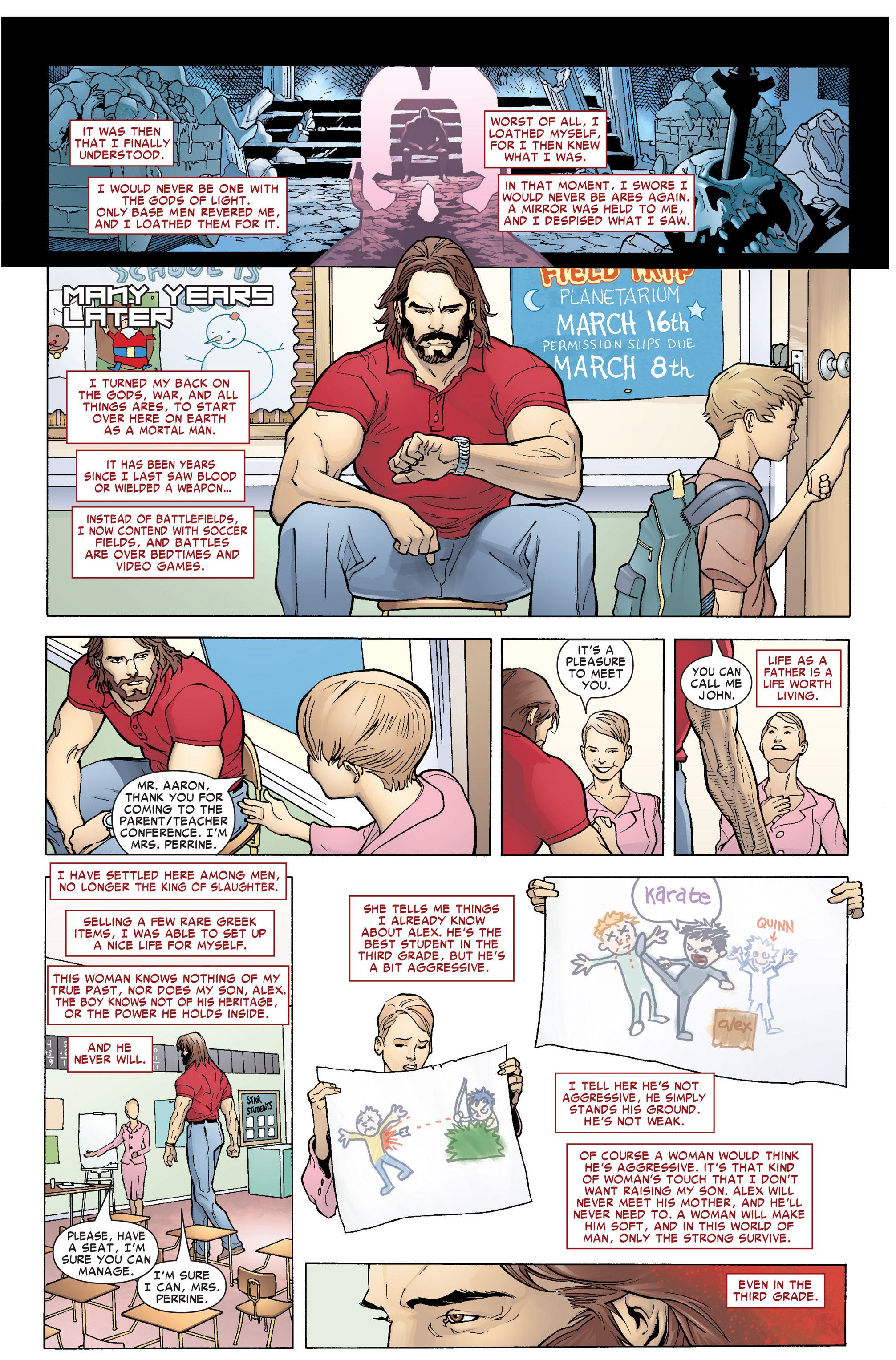 Read online Ares comic -  Issue #1 - 6