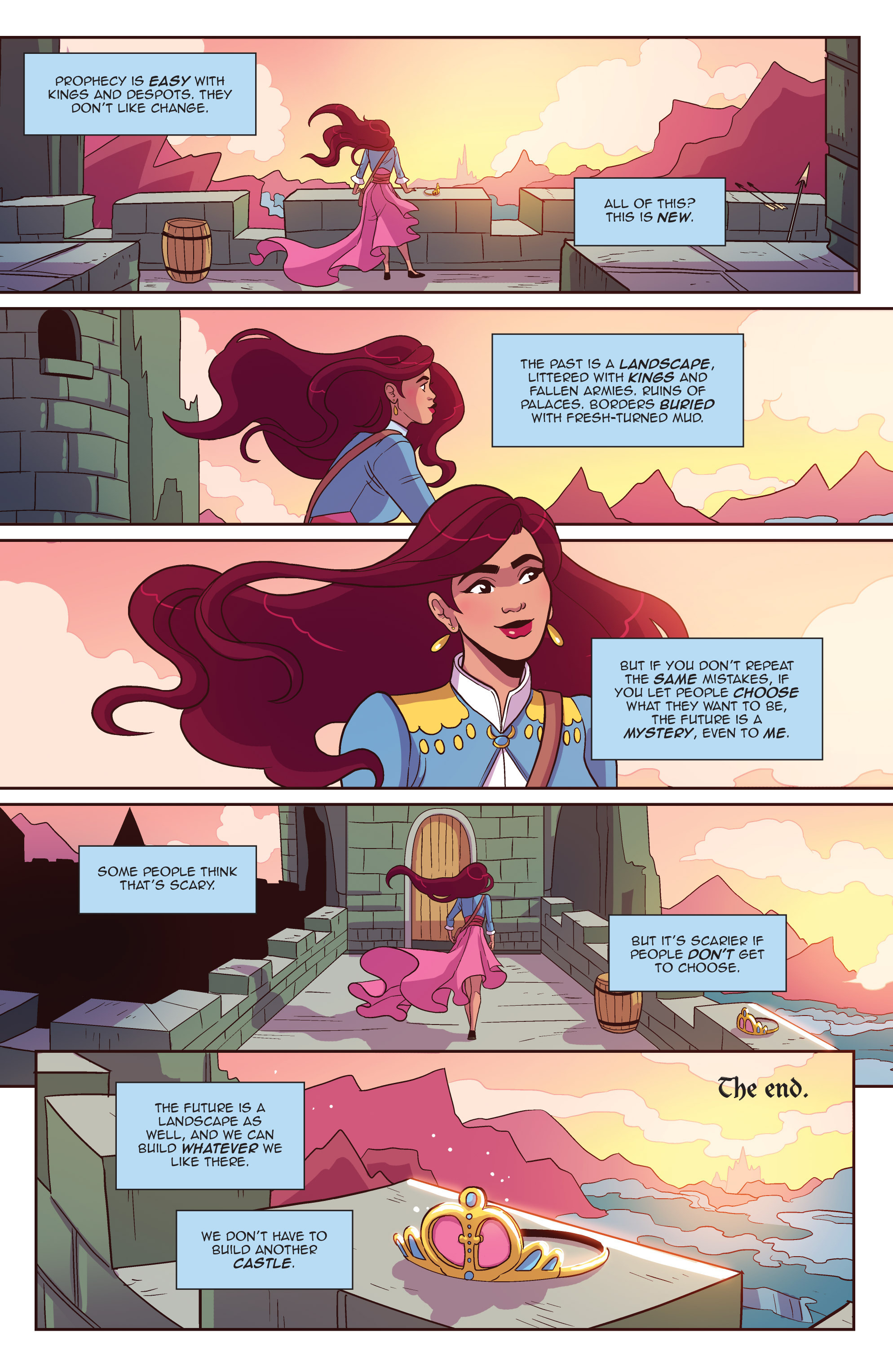 Read online Another Castle comic -  Issue #5 - 26