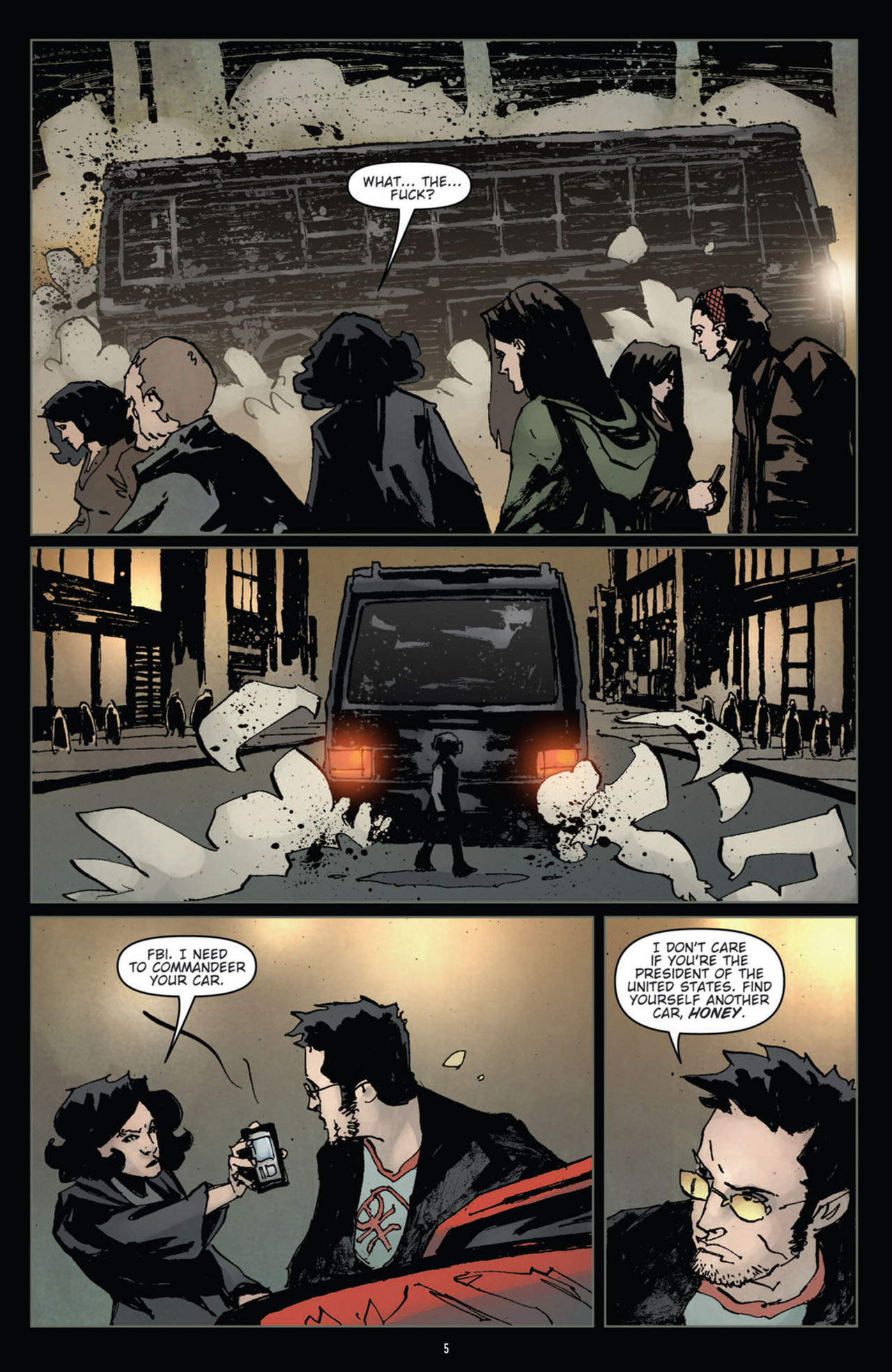 Read online 30 Days of Night (2011) comic -  Issue #12 - 7
