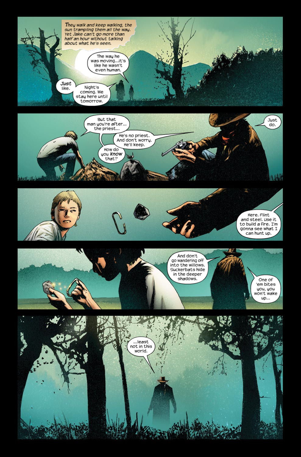 Read online Dark Tower: The Gunslinger - The Way Station comic -  Issue #4 - 11