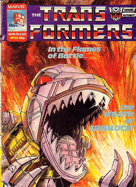 The Transformers (UK) 32 Page 1