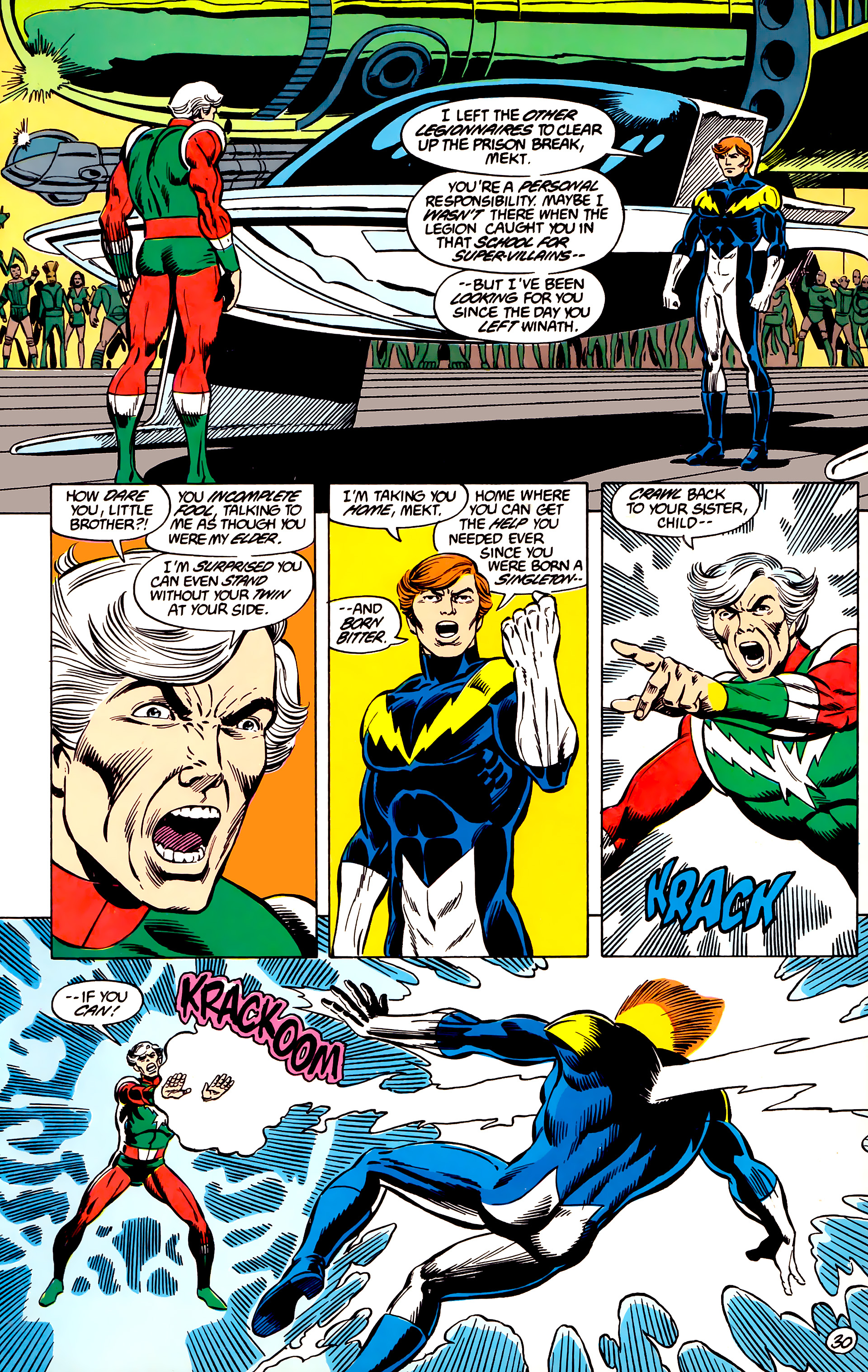 Legion of Super-Heroes (1984) 45 Page 30