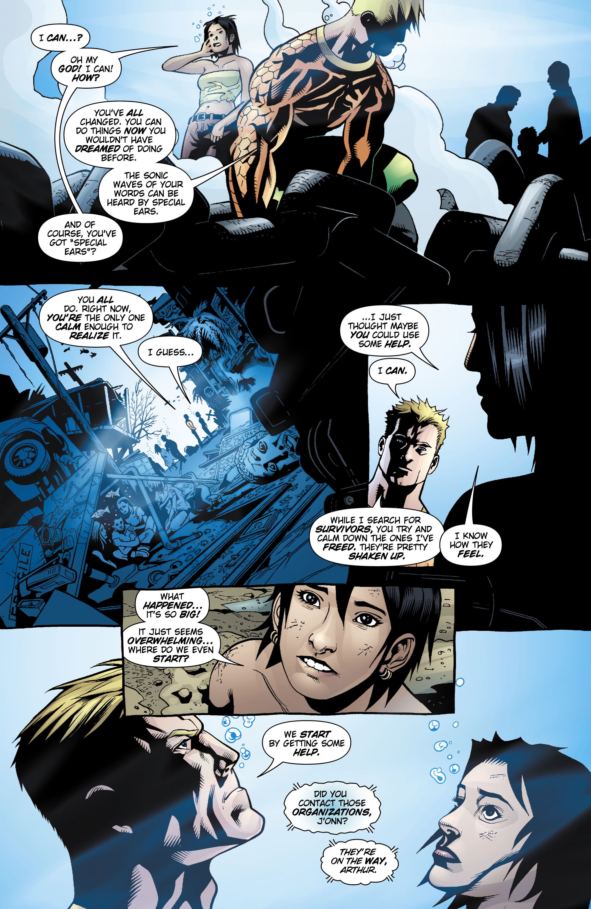 Read online Aquaman (2003) comic -  Issue #17 - 16