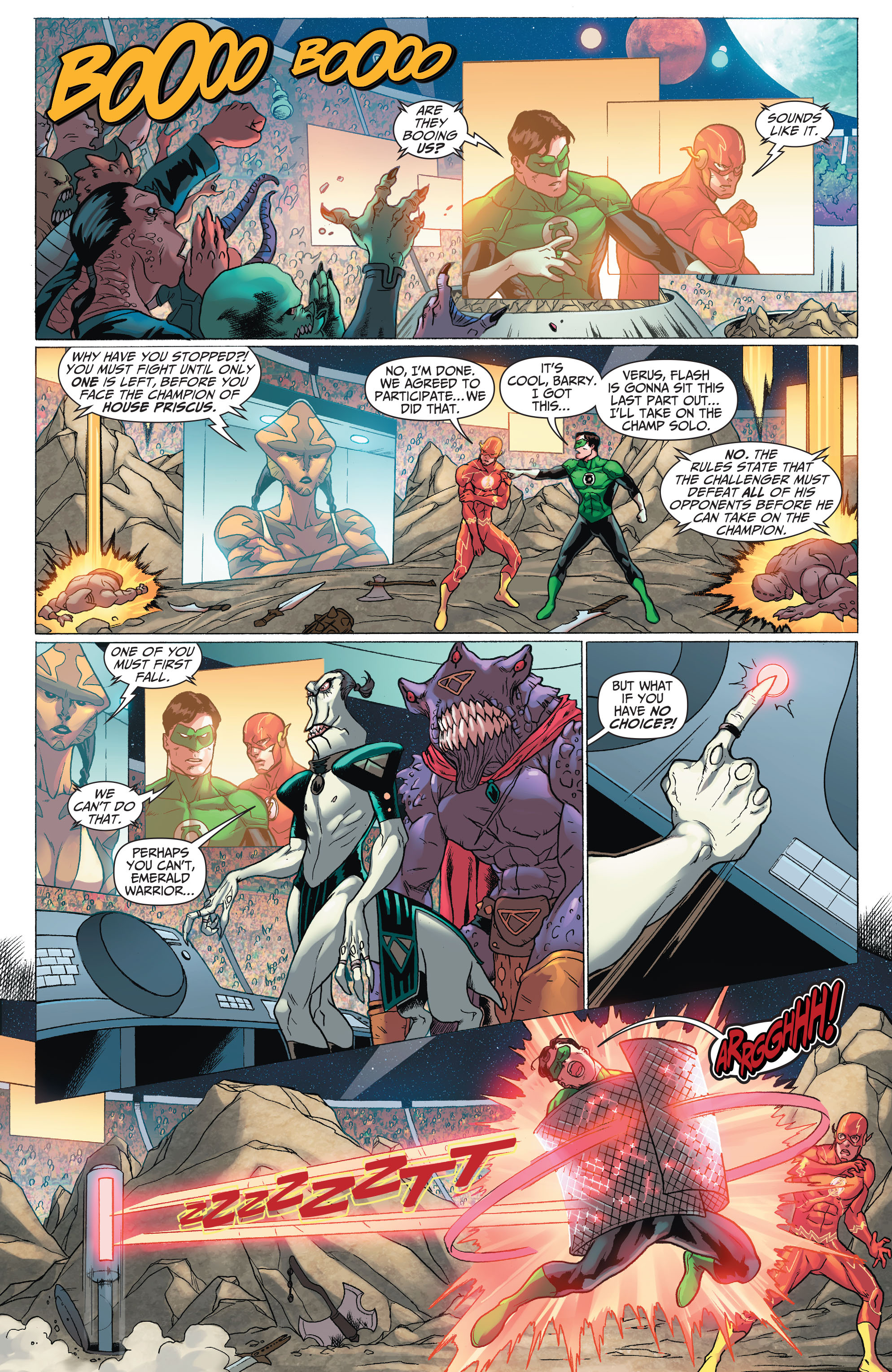 Read online The Flash (2011) comic -  Issue # _TPB 5 - 27