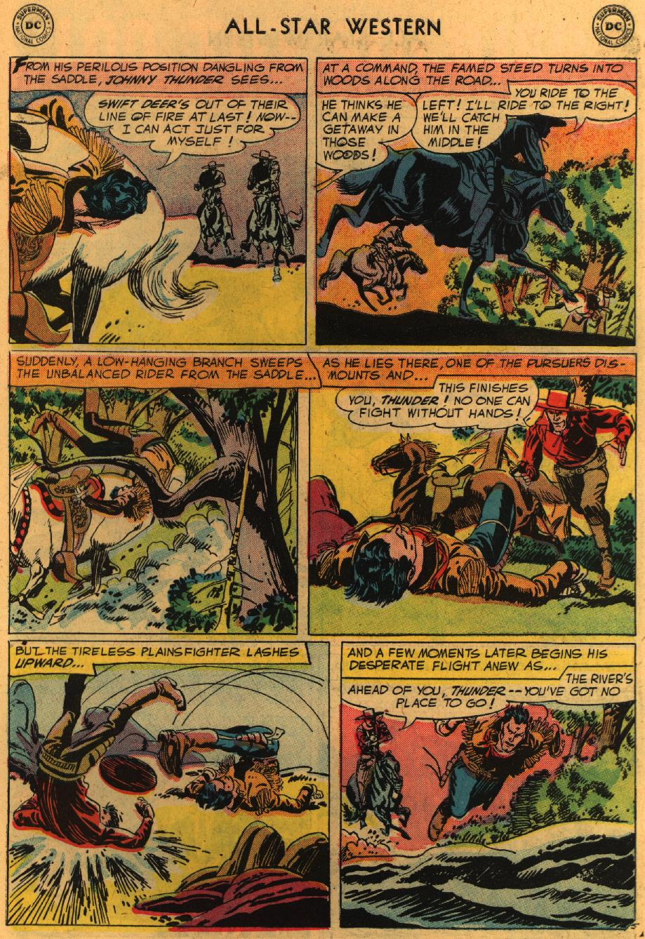 Read online All-Star Western (1951) comic -  Issue #98 - 32
