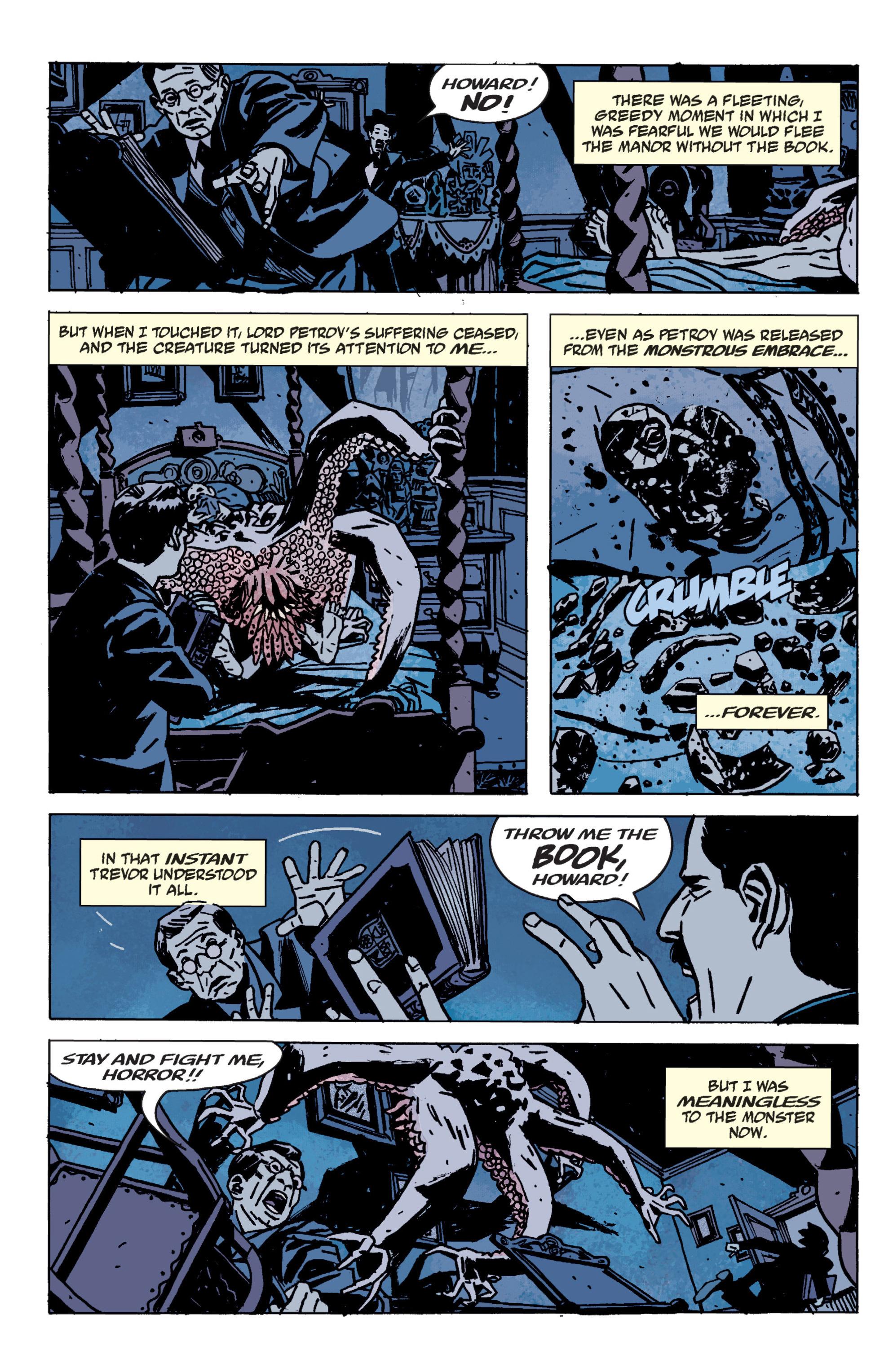 Read online B.P.R.D. (2003) comic -  Issue # TPB 9 - 142