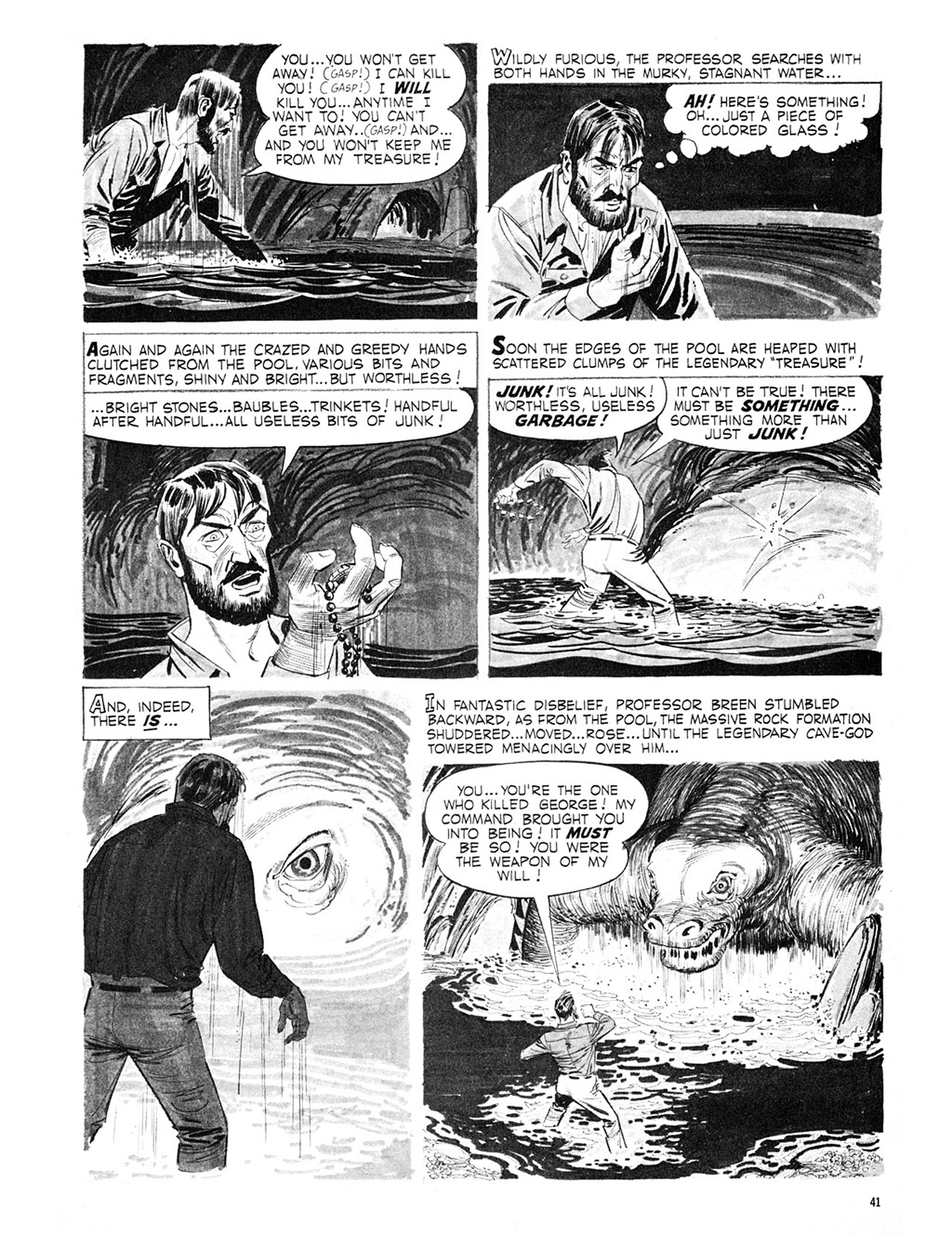 Read online Eerie Archives comic -  Issue # TPB 3 - 42