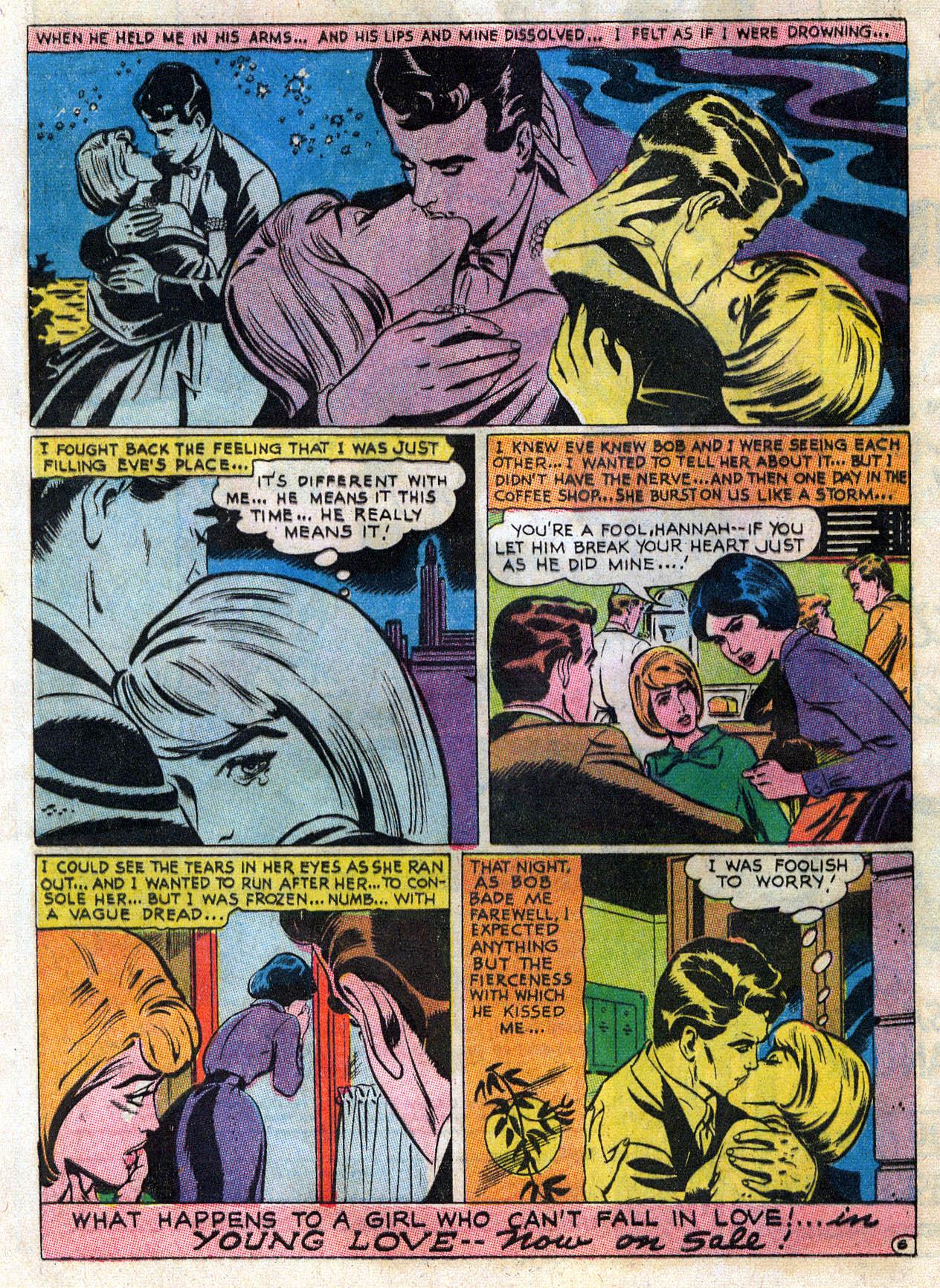 Read online Secret Hearts comic -  Issue #109 - 19