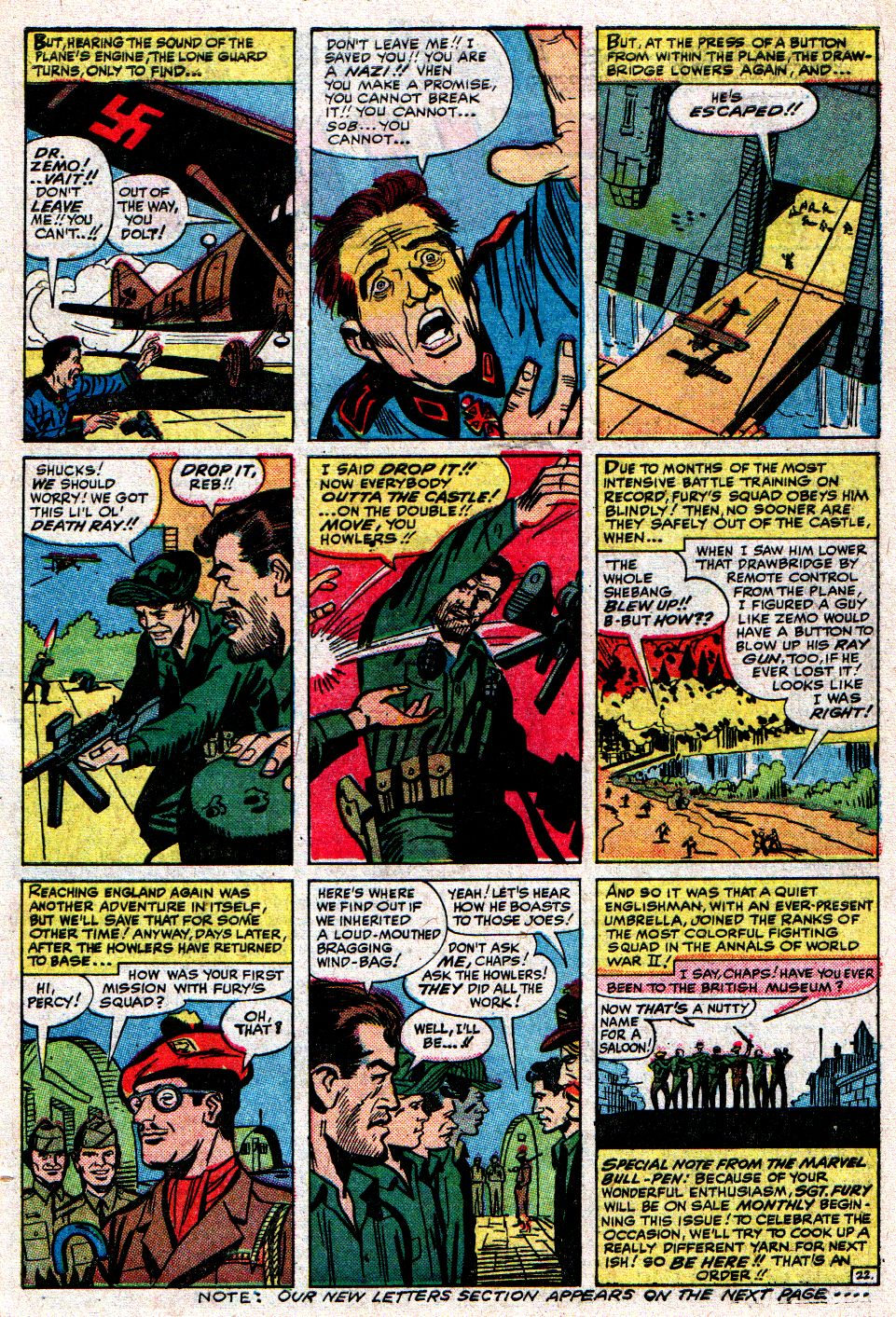 Read online Sgt. Fury comic -  Issue #8 - 31