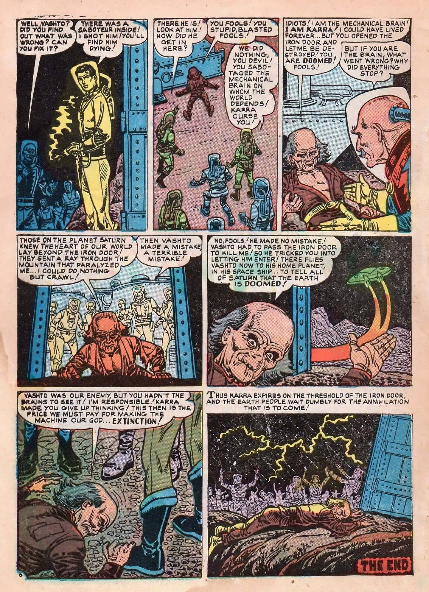 Read online Adventures into Weird Worlds comic -  Issue #2 - 8