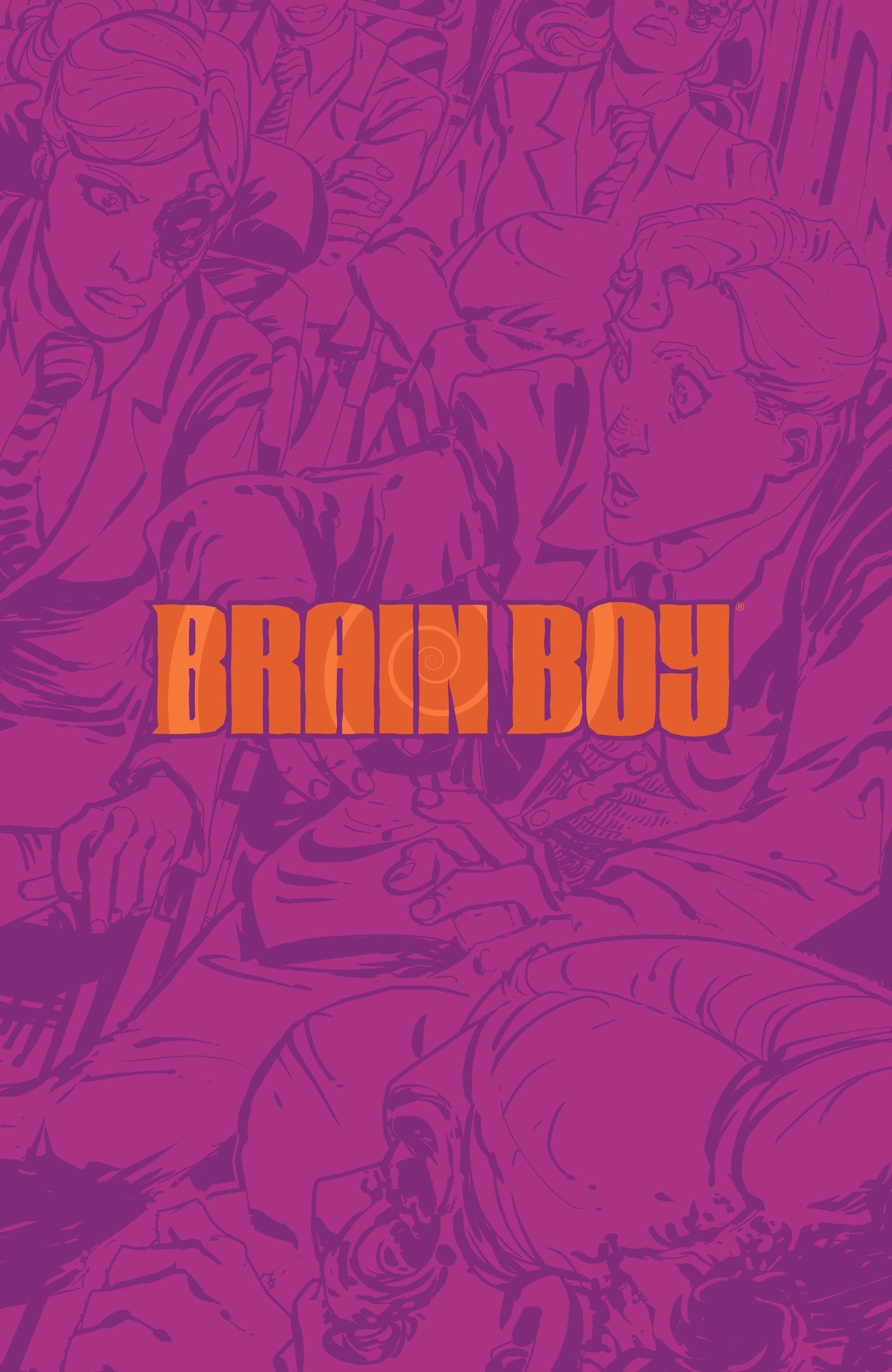 Read online Brain Boy:  The Men from G.E.S.T.A.L.T. comic -  Issue # TPB - 7