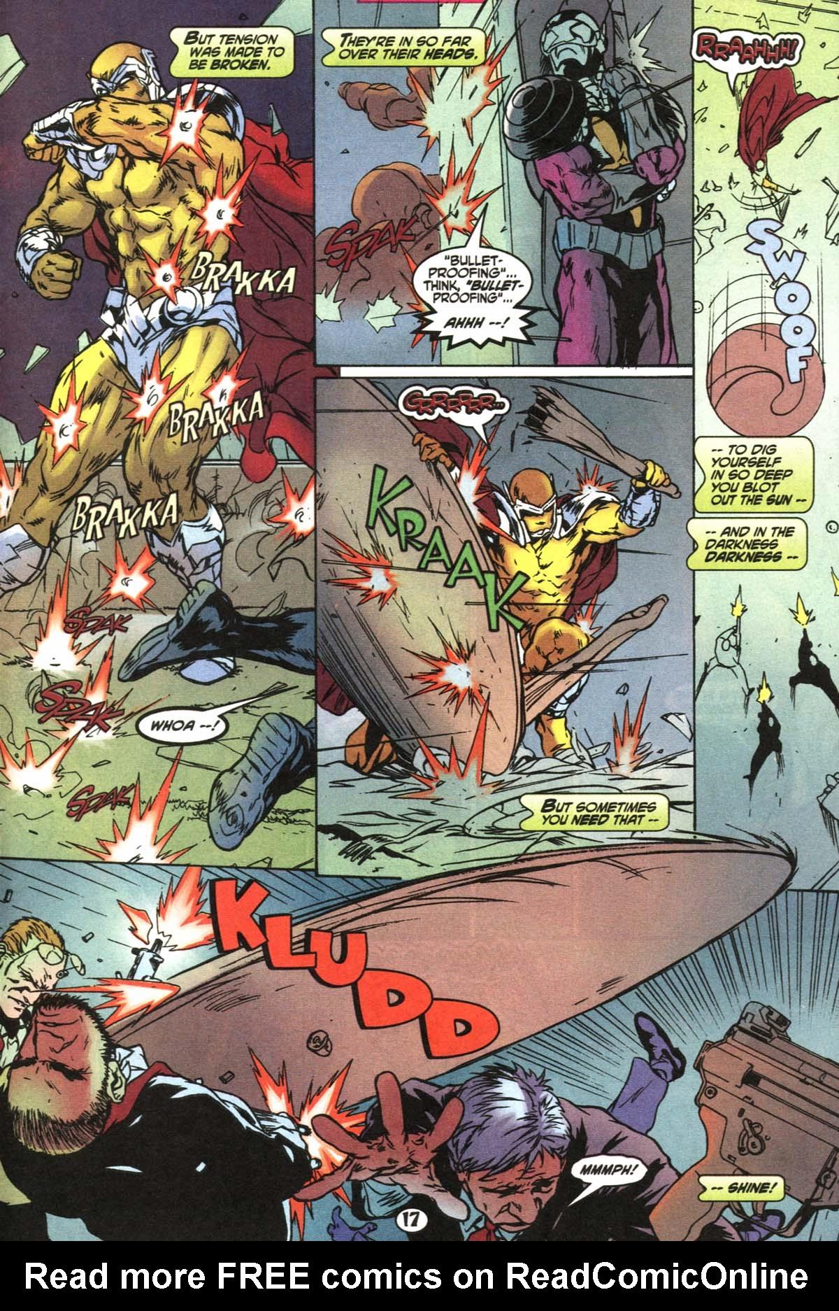 Read online Slingers comic -  Issue #4 - 18