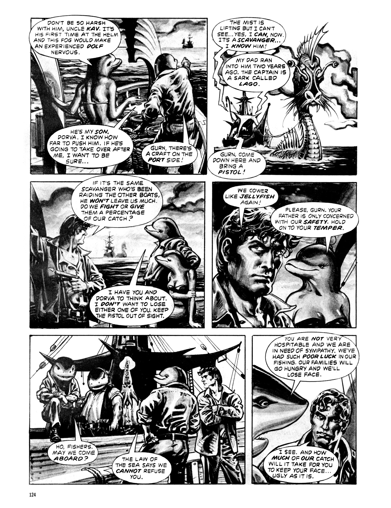 Read online Eerie Archives comic -  Issue # TPB 20 - 124