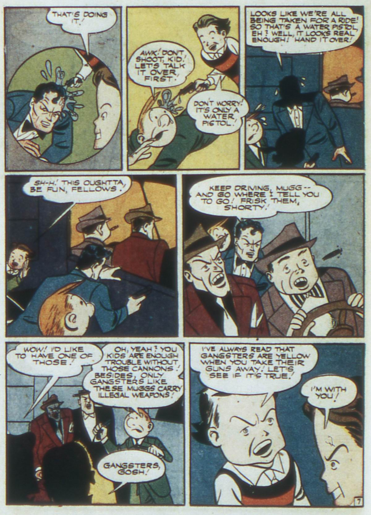 Read online Detective Comics (1937) comic -  Issue #87 - 42