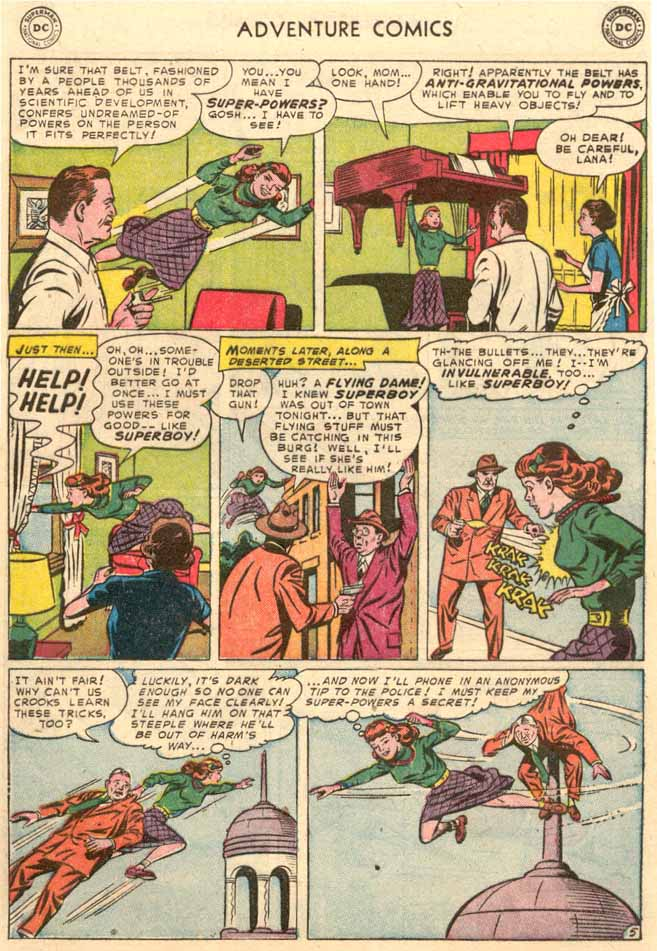 Read online Adventure Comics (1938) comic -  Issue #189 - 7
