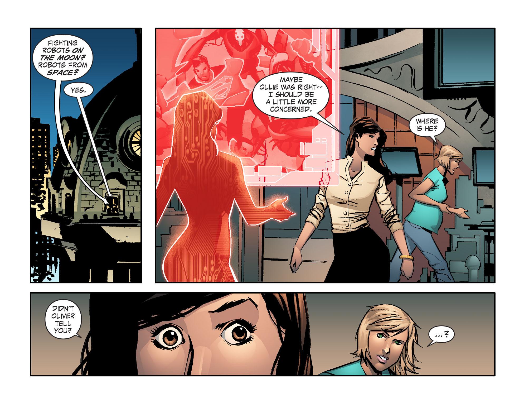 Read online Smallville: Lantern [I] comic -  Issue #6 - 9