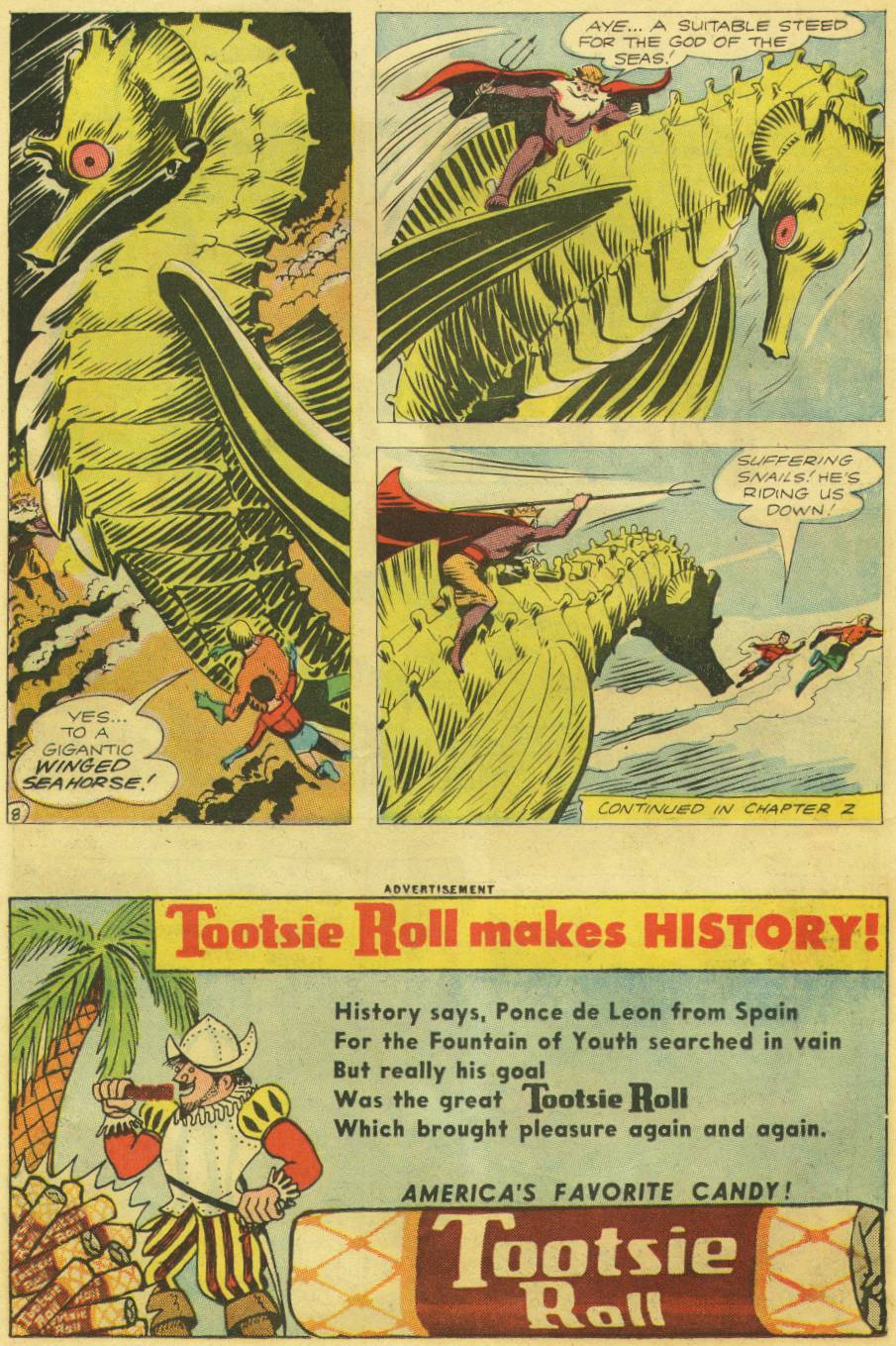 Read online Aquaman (1962) comic -  Issue #9 - 10