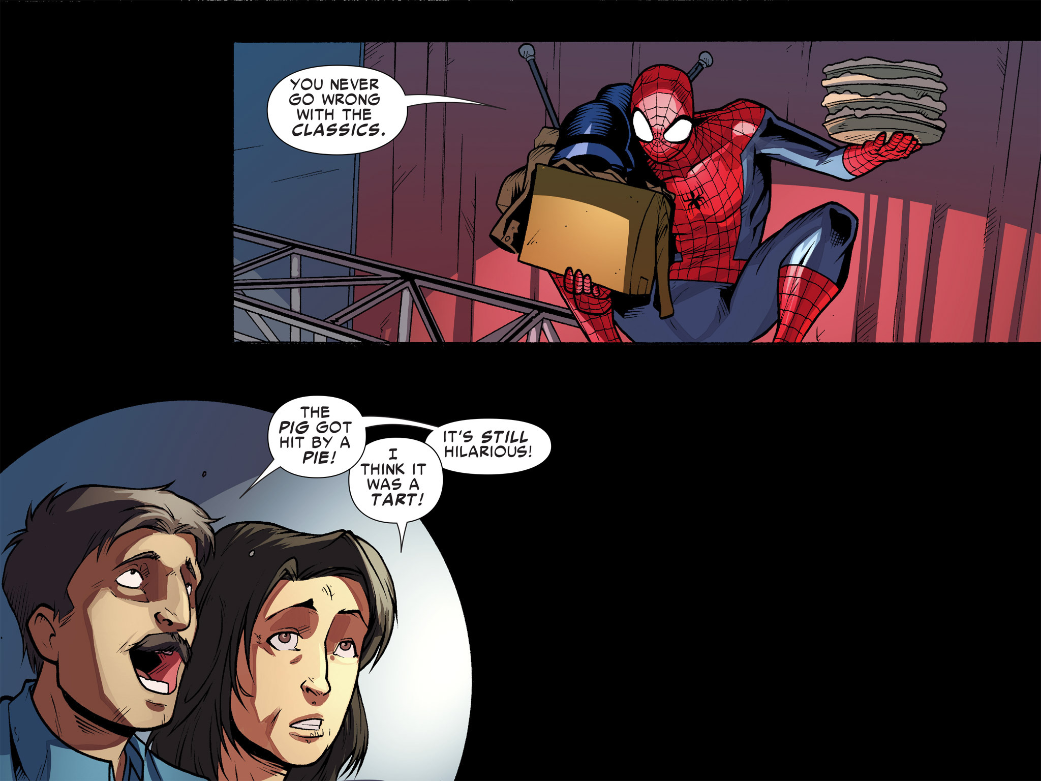 Read online Ultimate Spider-Man (Infinite Comics) (2016) comic -  Issue #10 - 43