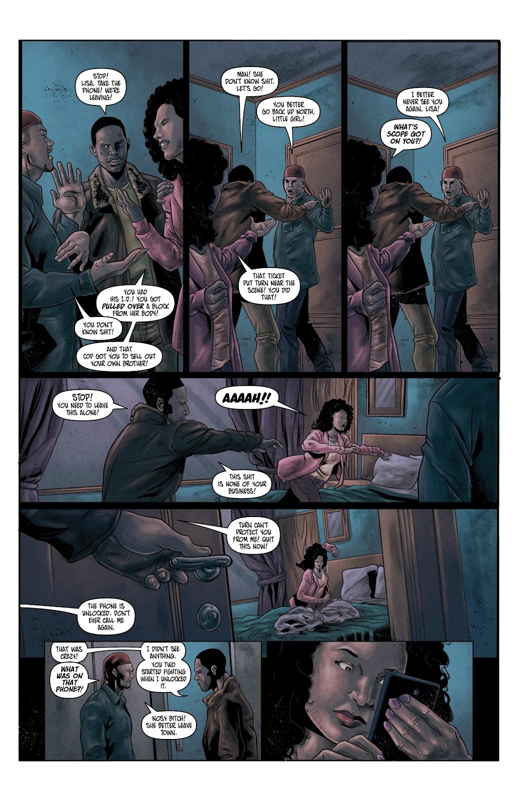 Read online Vindication comic -  Issue #4 - 5