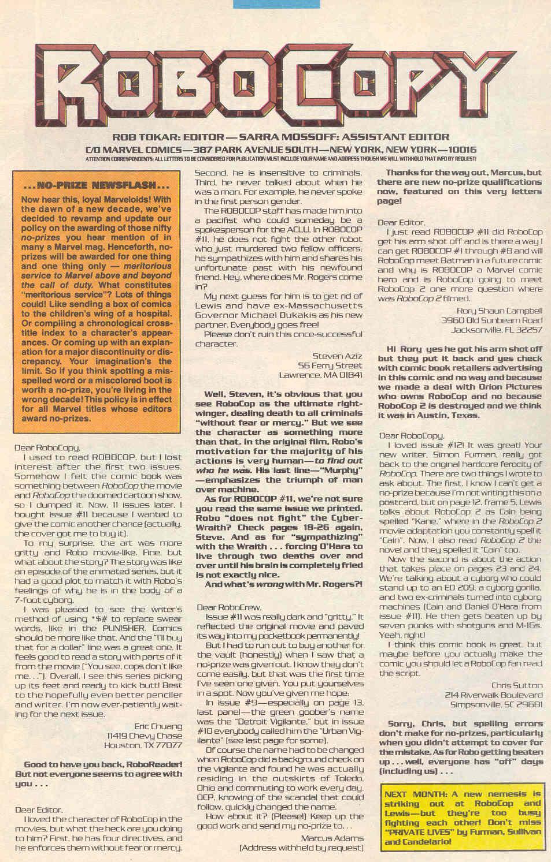 Read online Robocop (1990) comic -  Issue #16 - 24