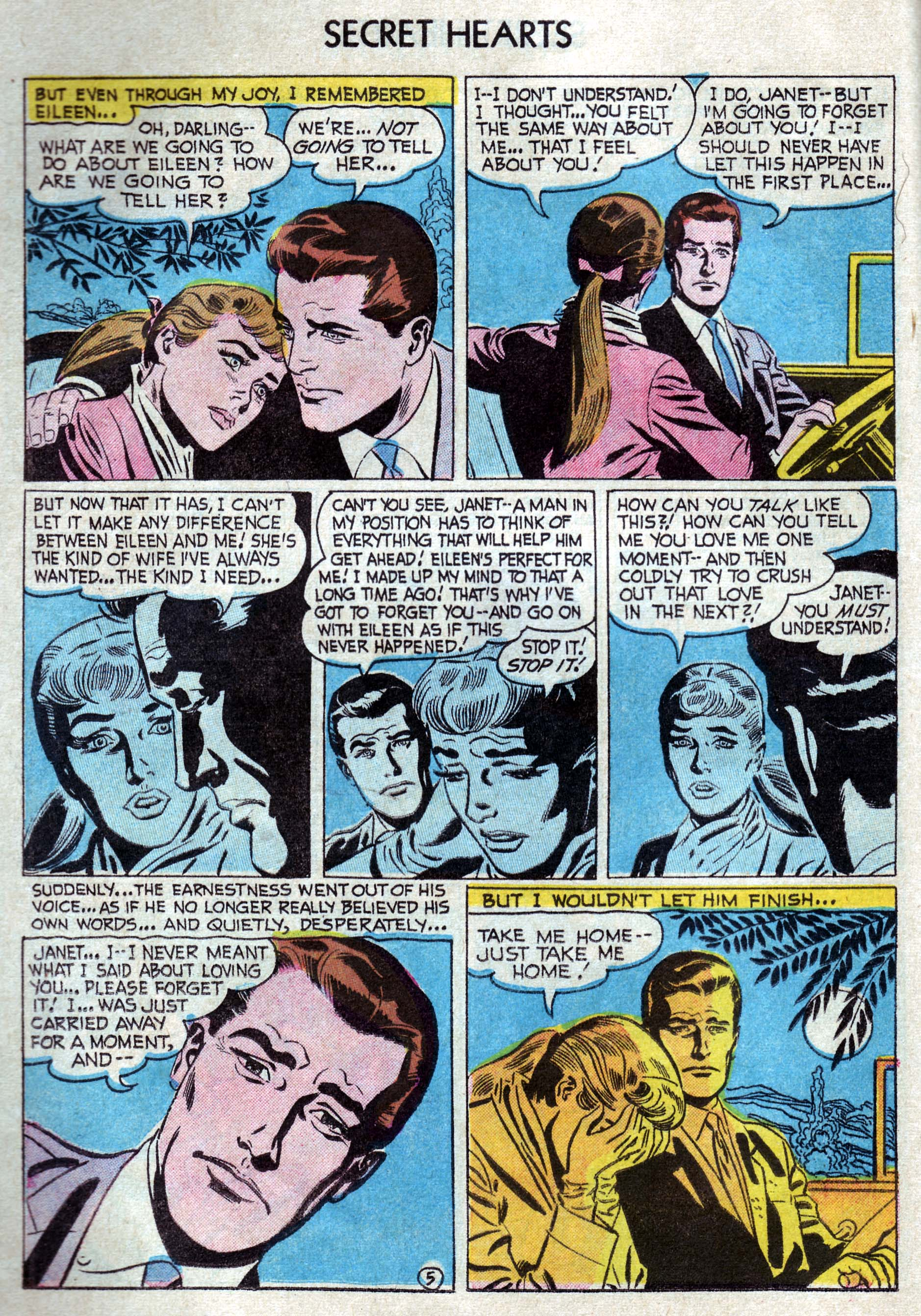 Read online Secret Hearts comic -  Issue #33 - 14