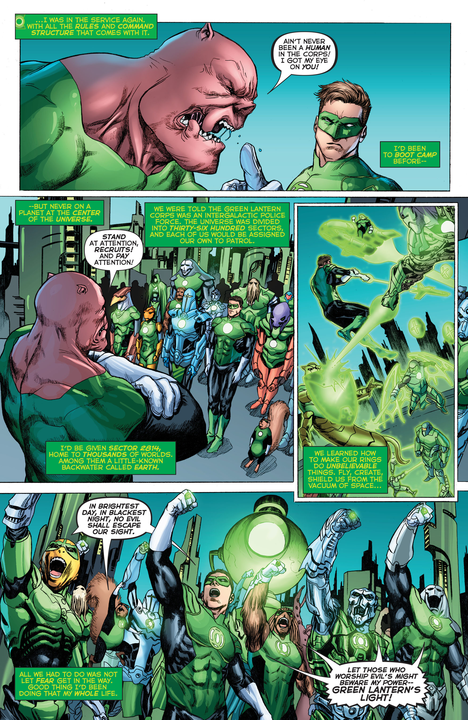 Read online Secret Origins (2014) comic -  Issue #3 - 11