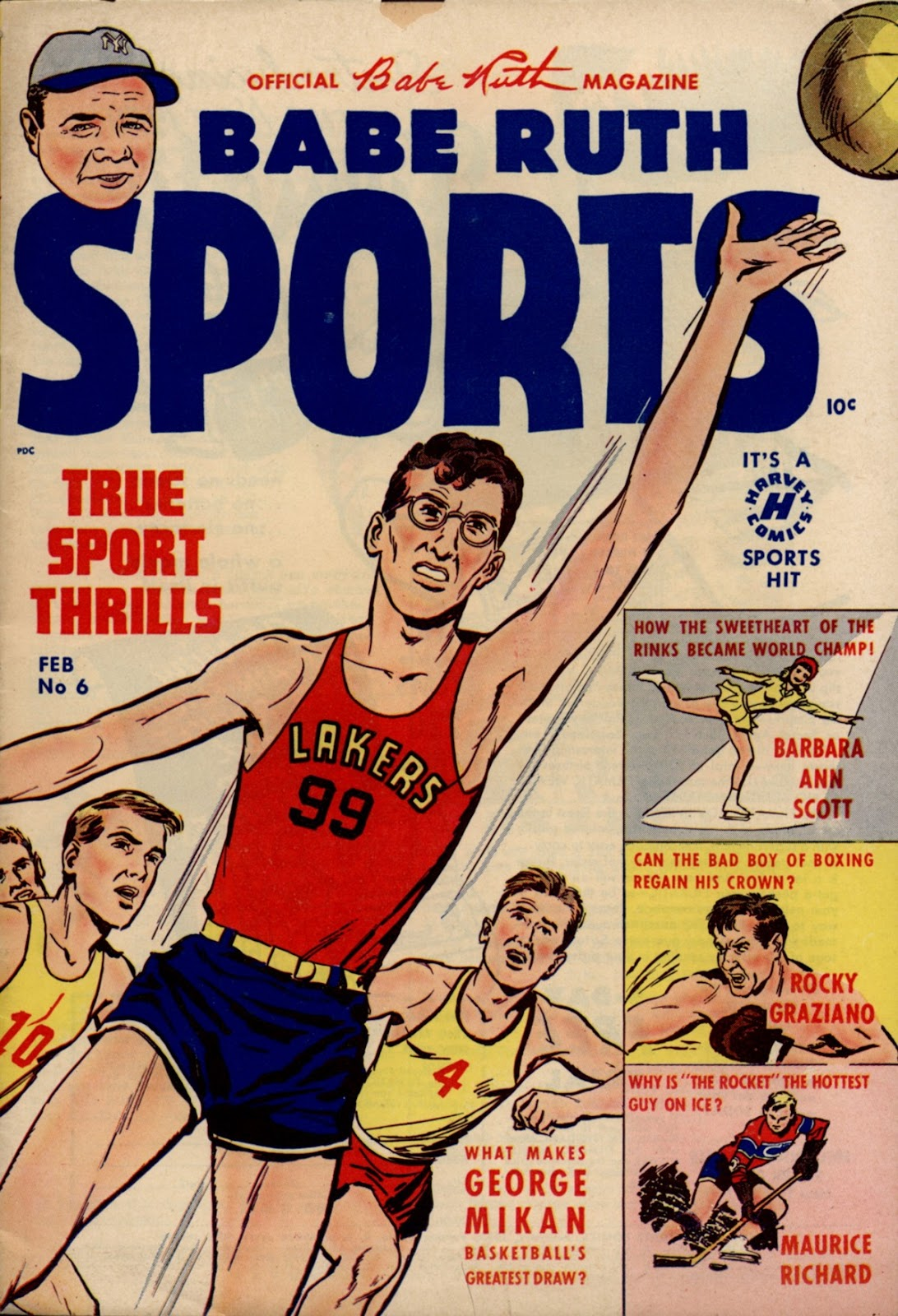 Babe Ruth Sports Comics 6 Page 1