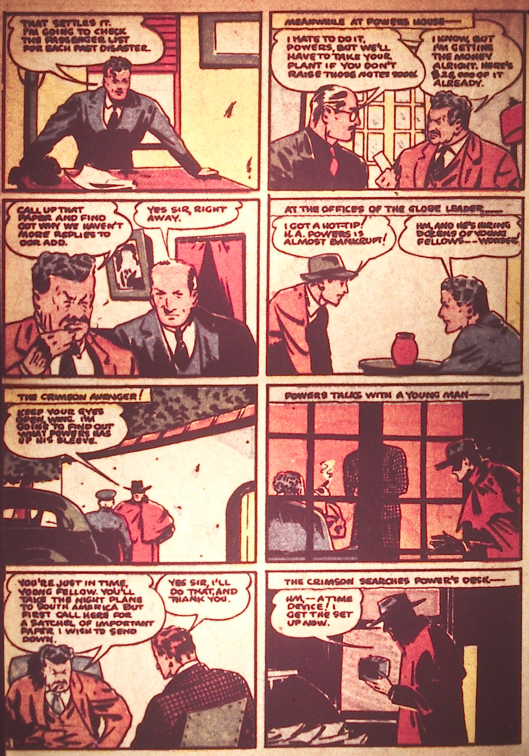 Read online Detective Comics (1937) comic -  Issue #25 - 38