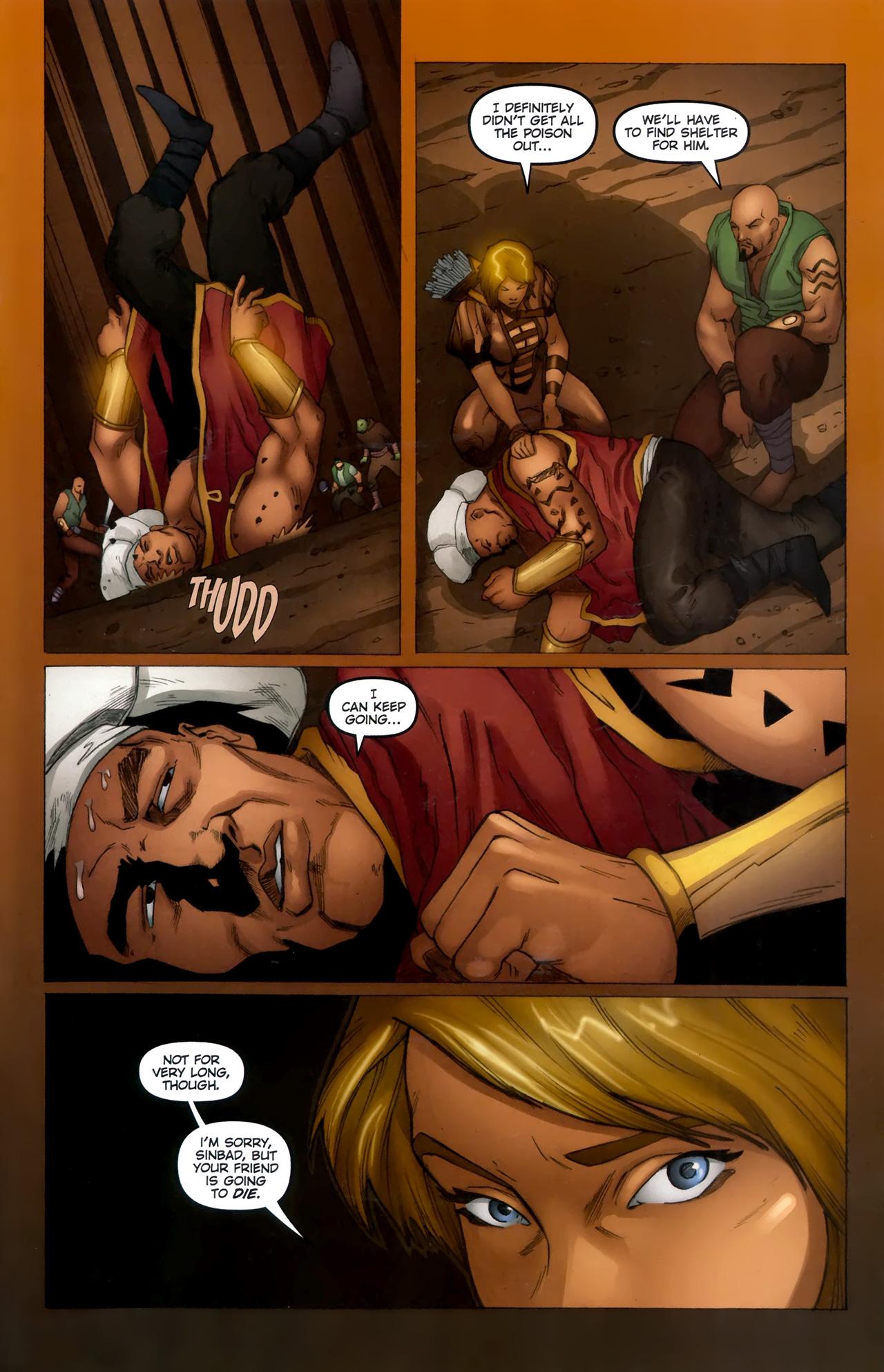 Read online 1001 Arabian Nights: The Adventures of Sinbad comic -  Issue #11 - 23