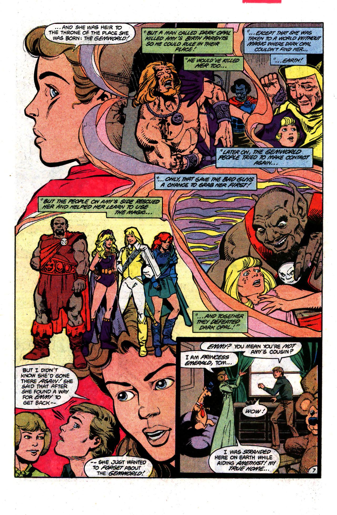 Read online Amethyst (1985) comic -  Issue #8 - 7