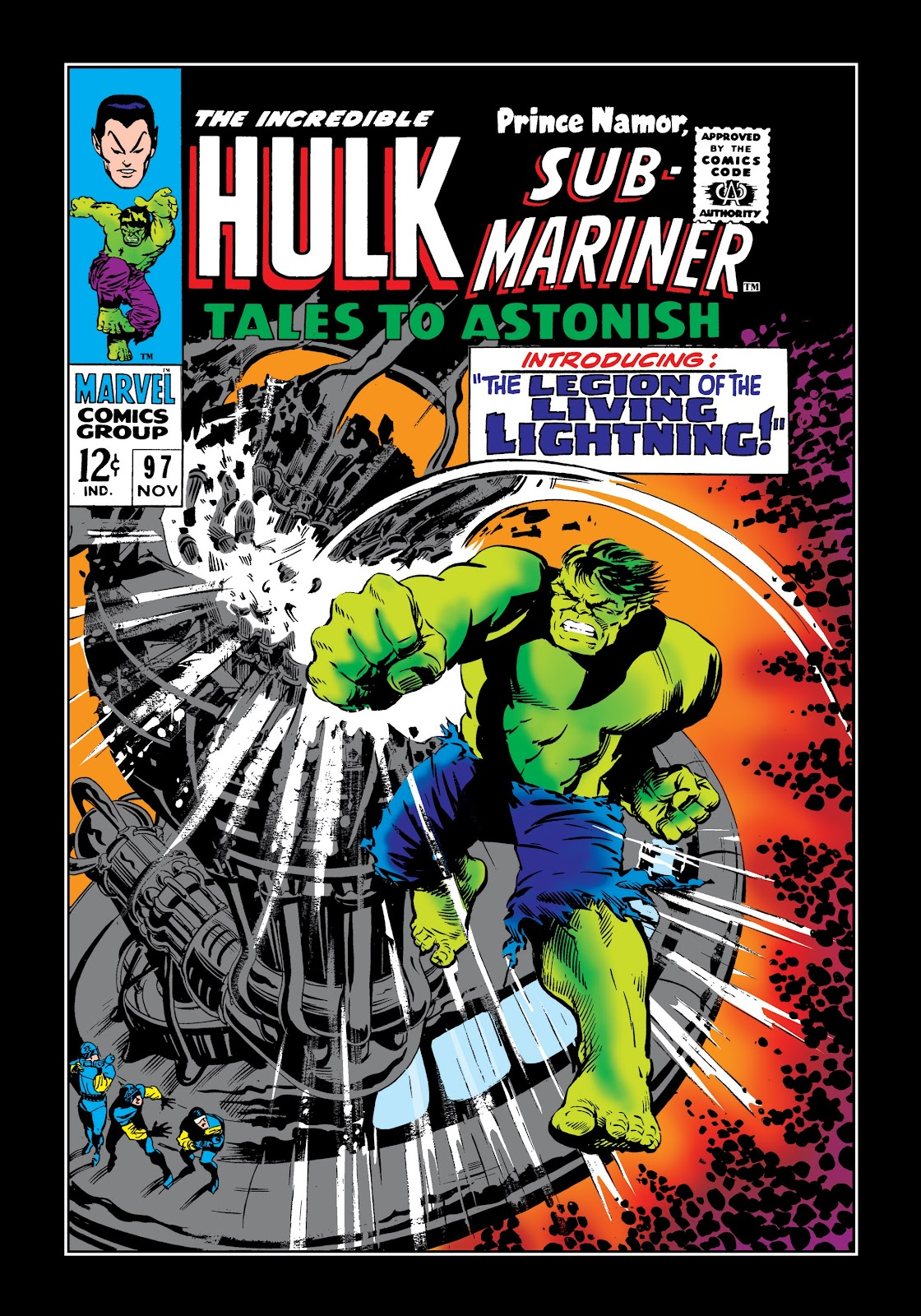 Read online Marvel Masterworks: The Incredible Hulk comic -  Issue # TPB 3 (Part 2) - 94